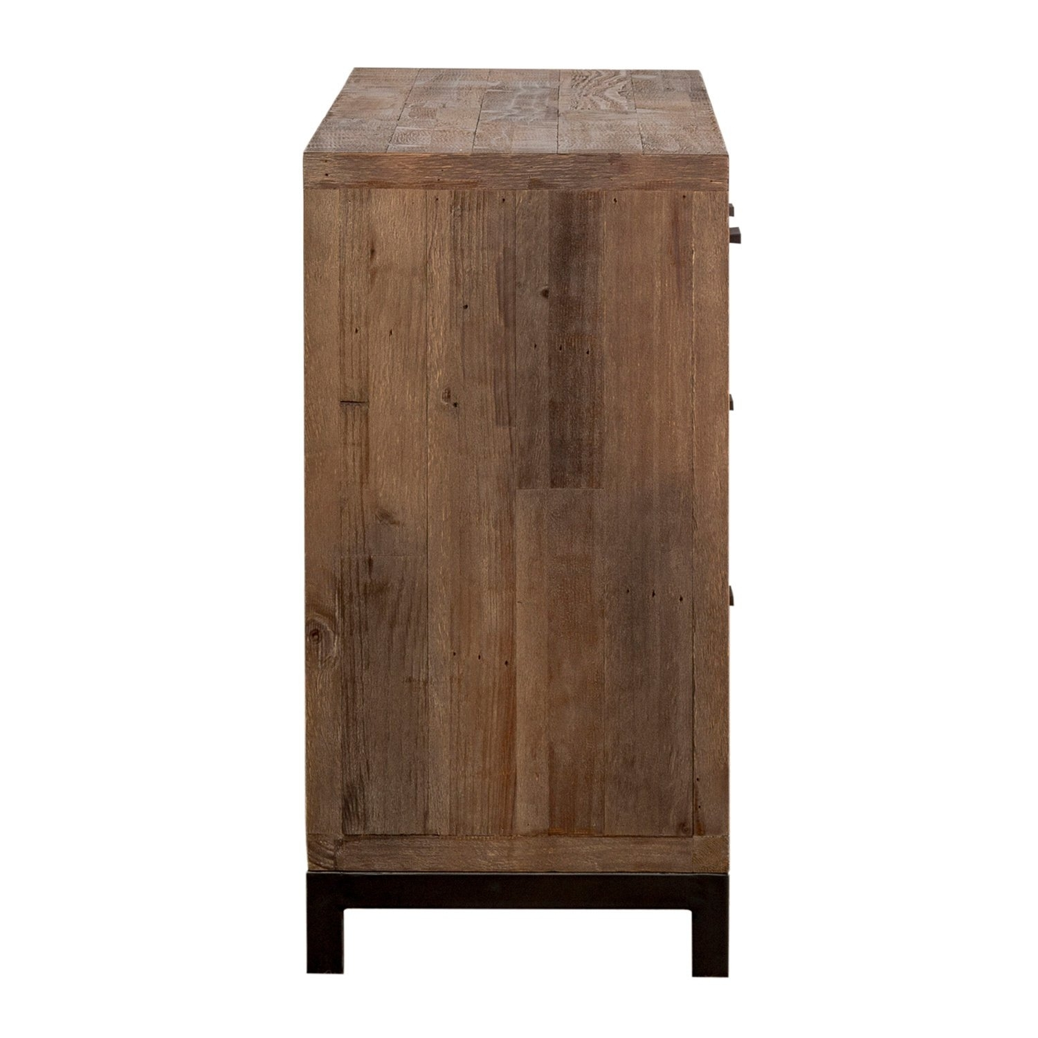 Shop Klamath Reclaimed Pine 3 Drawer 2 Door Sideboardkosas Home Within Newest Reclaimed Pine & Iron 4 Door Sideboards (View 17 of 20)