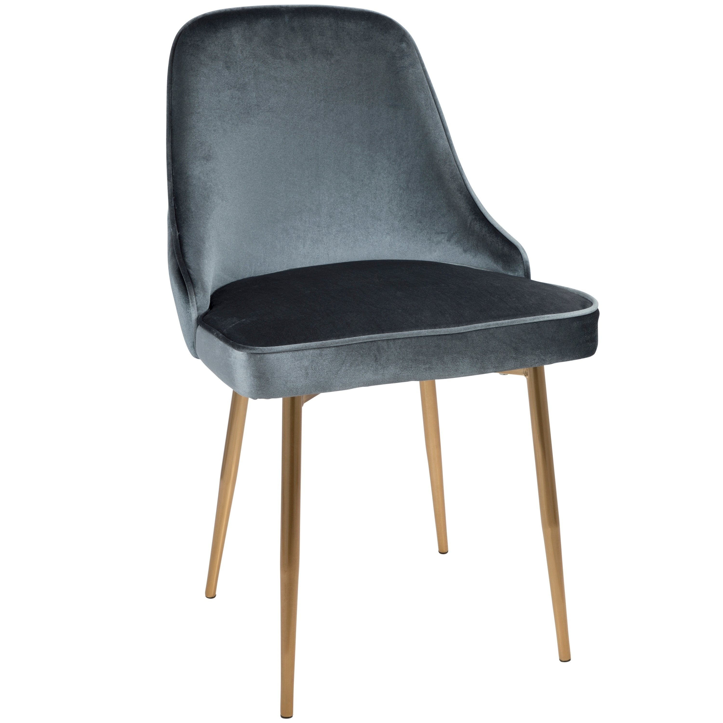 Shop Lumisource Marcel Contemporary Dining Chair (Set Of 2) – Free Throughout Most Recently Released Pilo Grey Side Chairs (View 7 of 20)