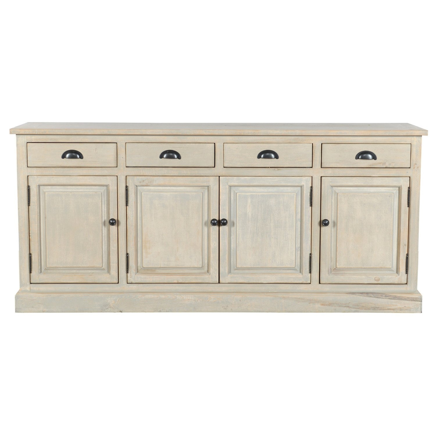 Shop Wilson Reclaimed Wood 79 Inch Sideboardkosas Home – Free In Most Recently Released Reclaimed Pine Turquoise 4 Door Sideboards (View 13 of 20)