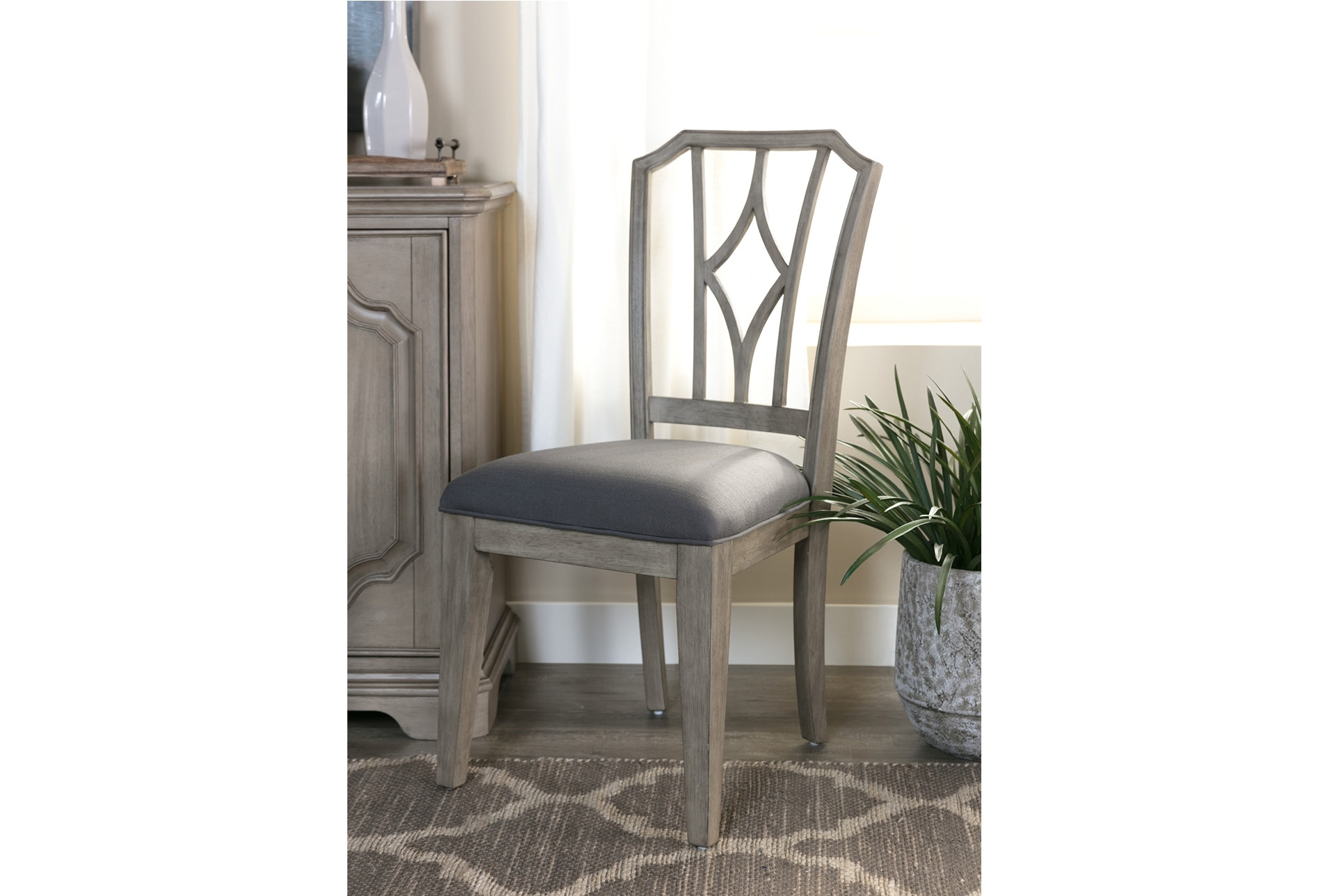 Side Chair And Products Throughout Most Popular Caira Upholstered Diamond Back Side Chairs (View 17 of 20)