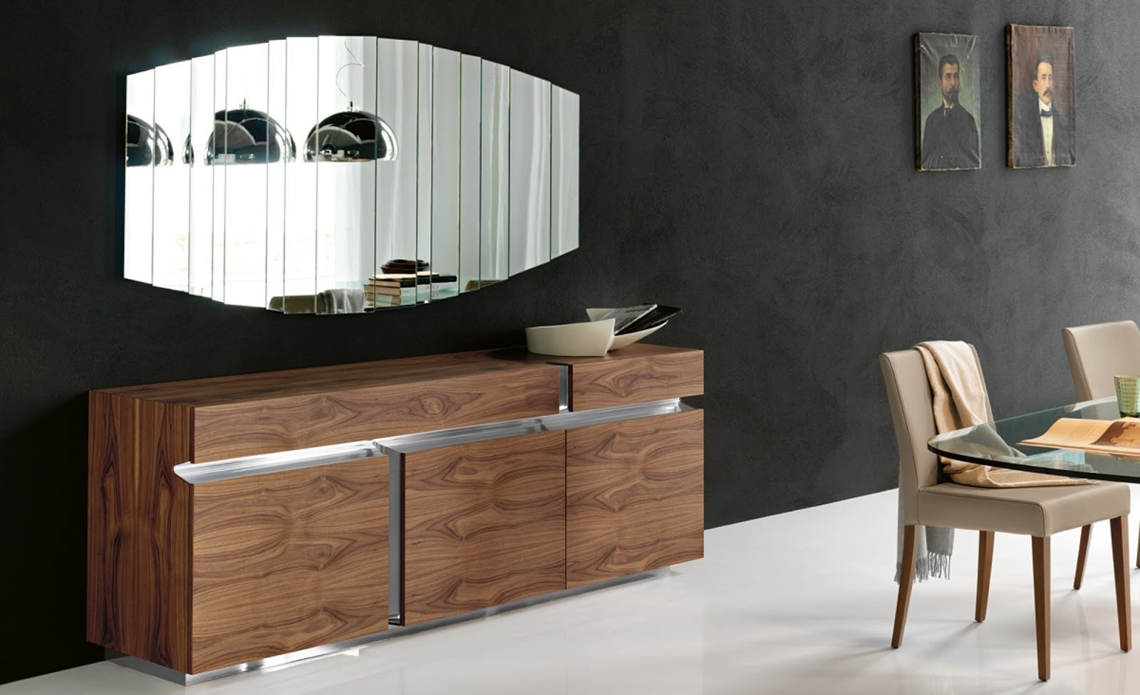 Sideboard – Prisma – Cattelan Italia – Italian Furniture With Most Recently Released Black Burnt Oak Sideboards (View 15 of 20)