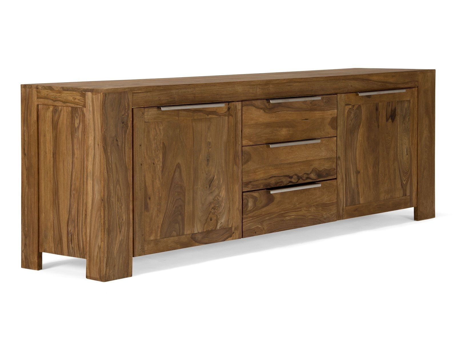 Sideboard Stark I | Ip Teak Furniture Mauritius | Pinterest | Teak Intended For Best And Newest Light Brown Reclaimed Elm & Pine 84 Inch Sideboards (View 3 of 20)