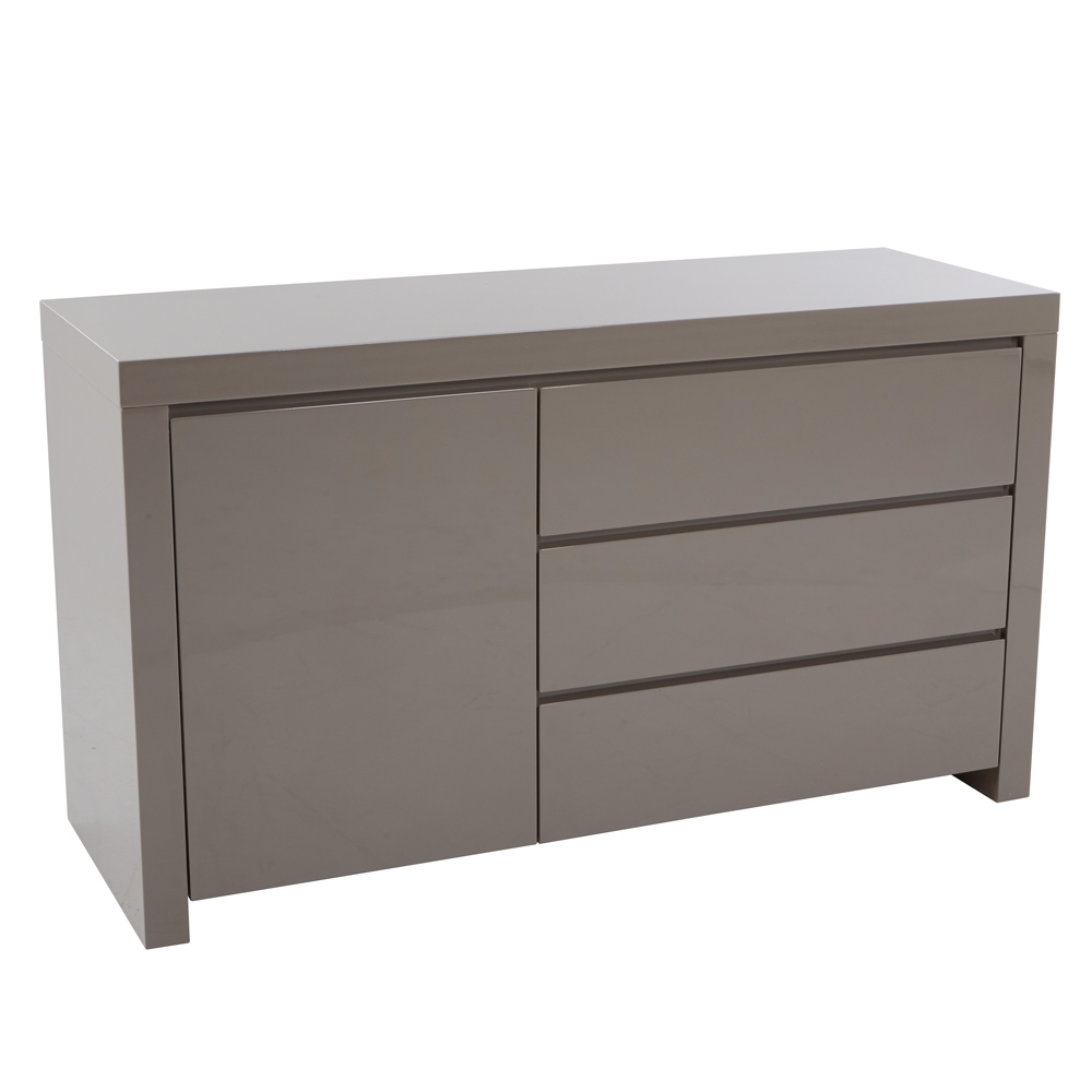 Sideboards | Contemporary Dining Room Furniture From Dwell With Latest Metal Refinement 4 Door Sideboards (View 19 of 20)