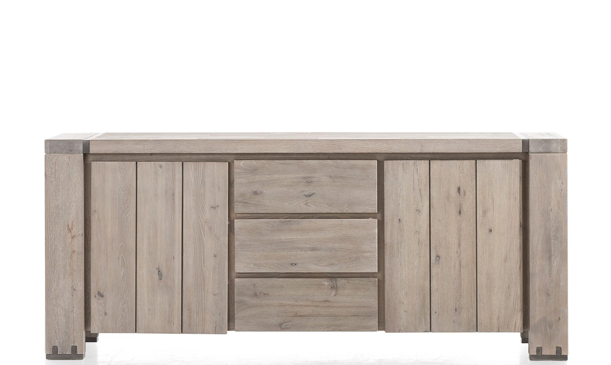 Sideboards – Modern, Oak & Pine Sideboards – Fishpools Inside Recent 3 Drawer/2 Door White Wash Sideboards (#16 of 20)