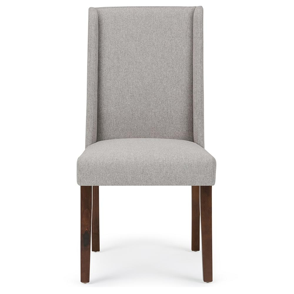 Simpli Home Sotherby Cloud Grey Deluxe Dining Chair (Set Of 2 For Famous Armless Oatmeal Dining Chairs (#17 of 20)