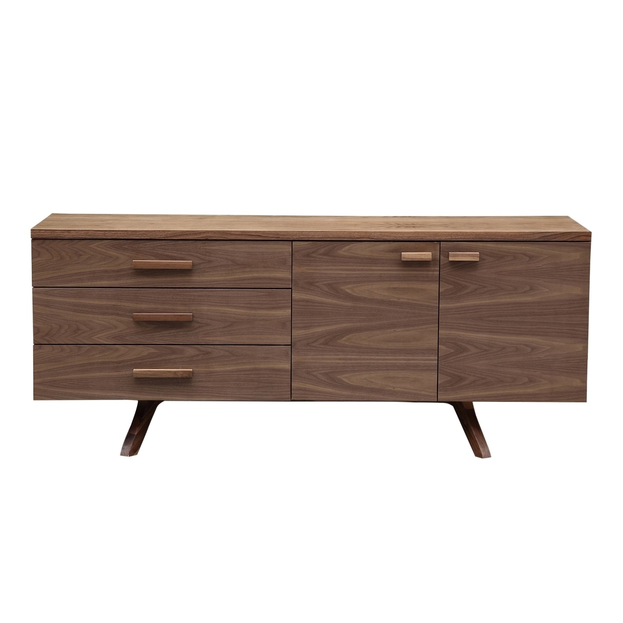 Storage – Sideboards – Charles Credenza – Kardiel With Regard To Best And Newest Diamond Circle Sideboards (#20 of 20)