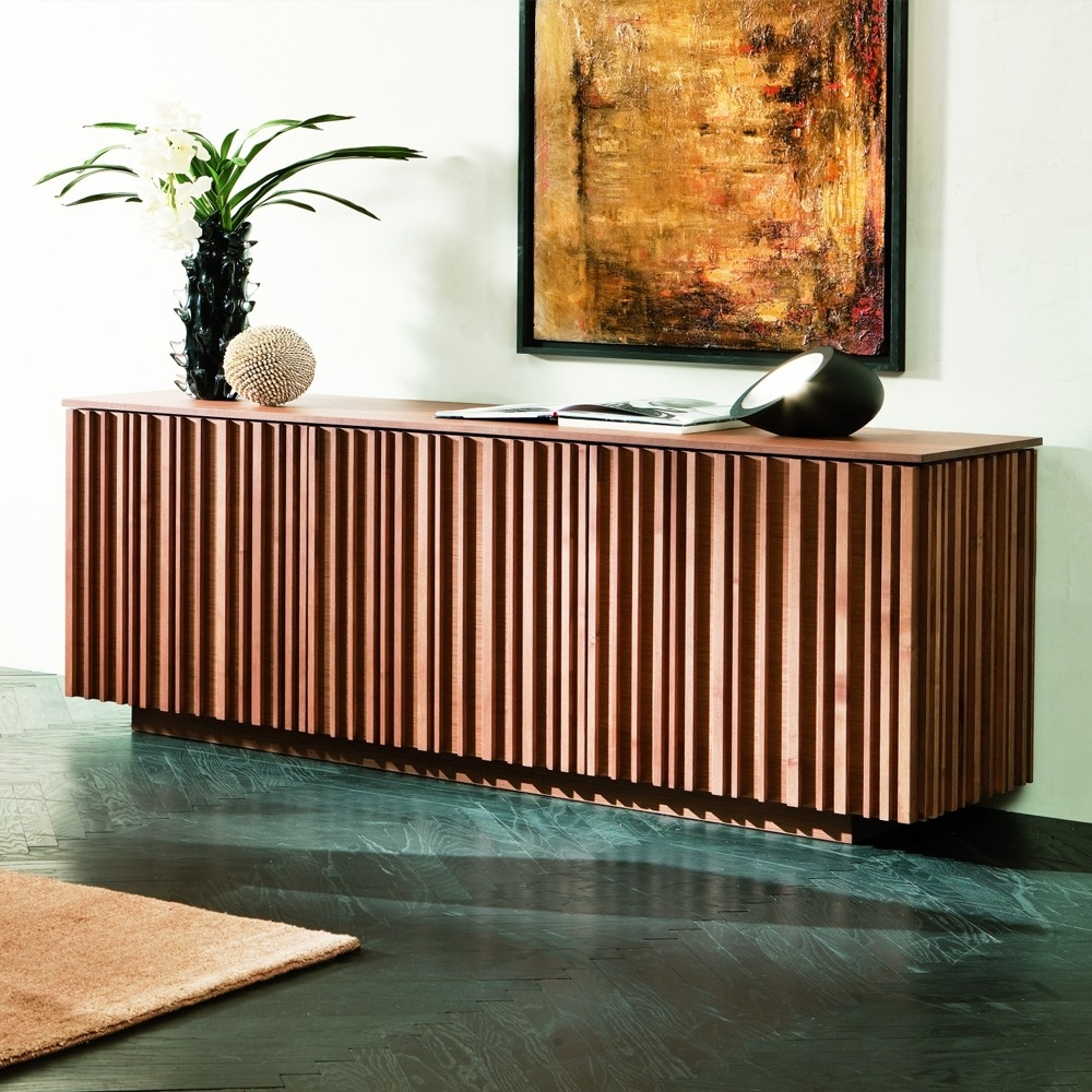 Striking Sideboards | Mrsd Daily Within Latest Brown Chevron 4 Door Sideboards (#20 of 20)