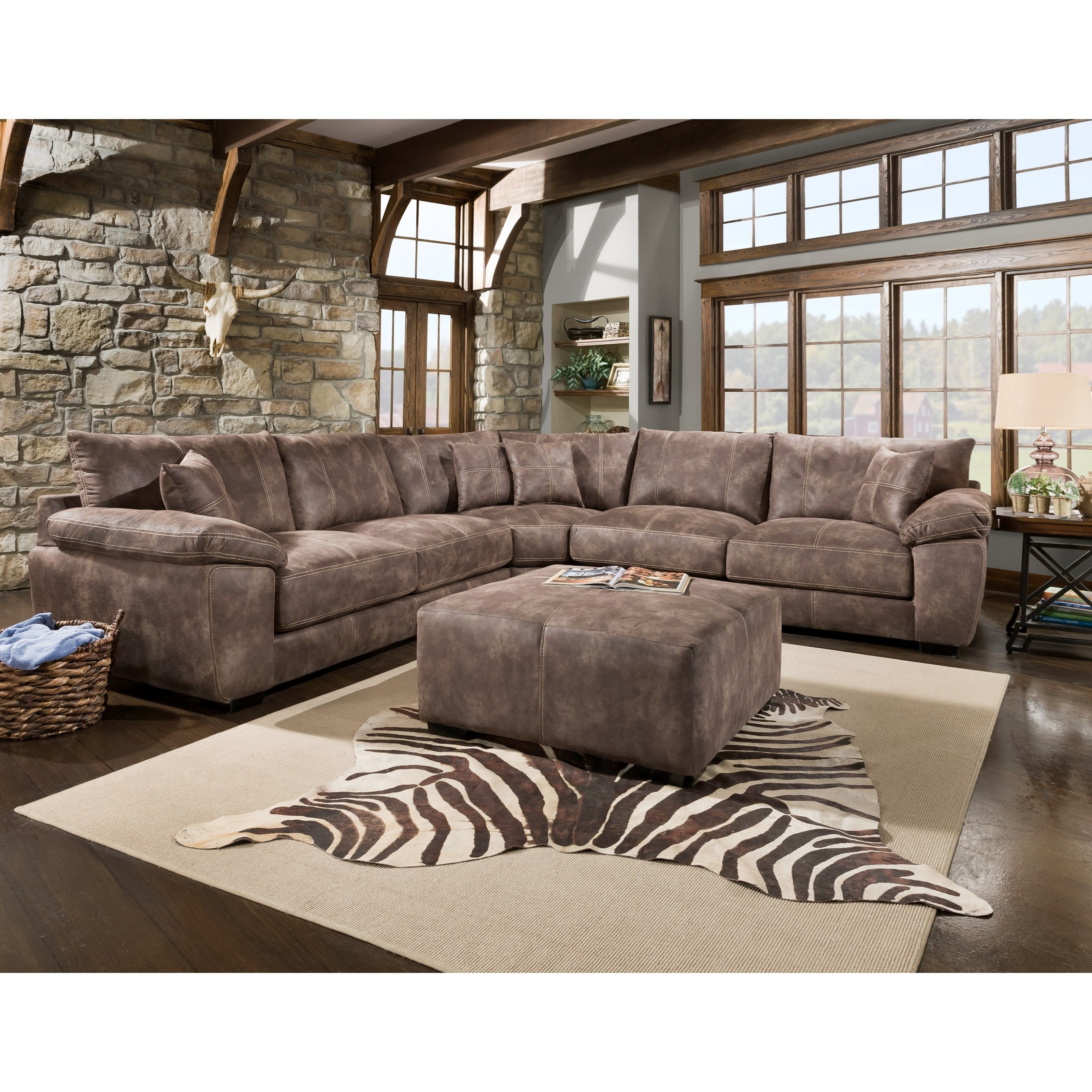 Inspiration about Teagan Side Chairs In 2019 Franklin Teagan Casual Three Piece Sectional (#20 of 20)