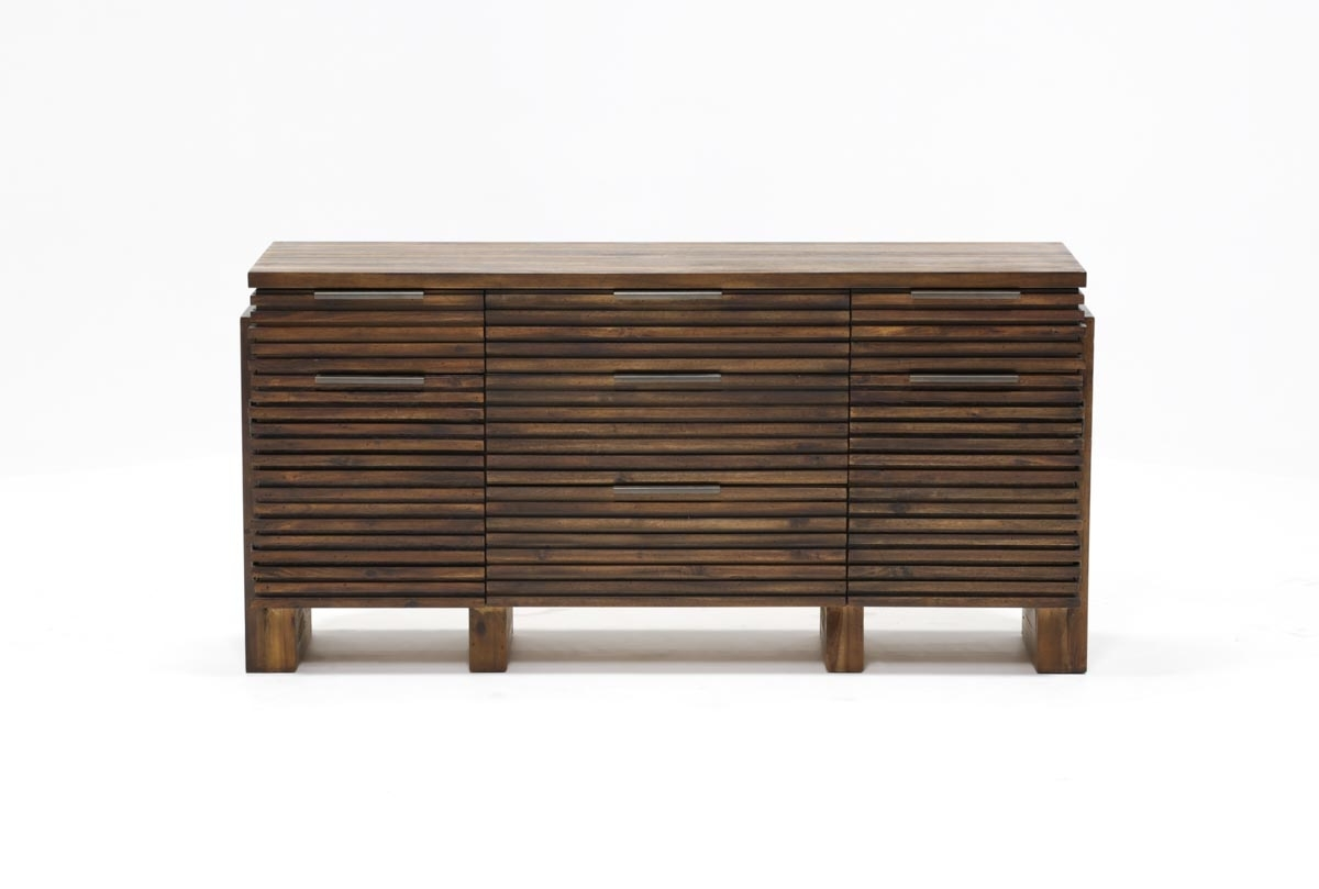 Teagan Sideboard | Living Spaces In Most Recent Palazzo 87 Inch Sideboards (#20 of 20)
