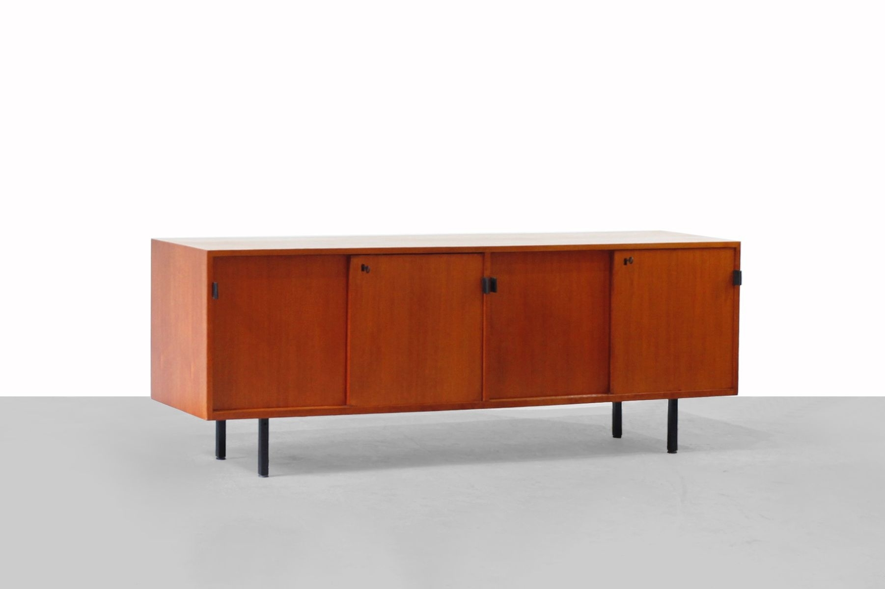 Inspiration about Teak Sideboardflorence Knoll For Knoll, 1950S For Sale At Pamono Throughout Current Girard 4 Door Sideboards (#3 of 20)