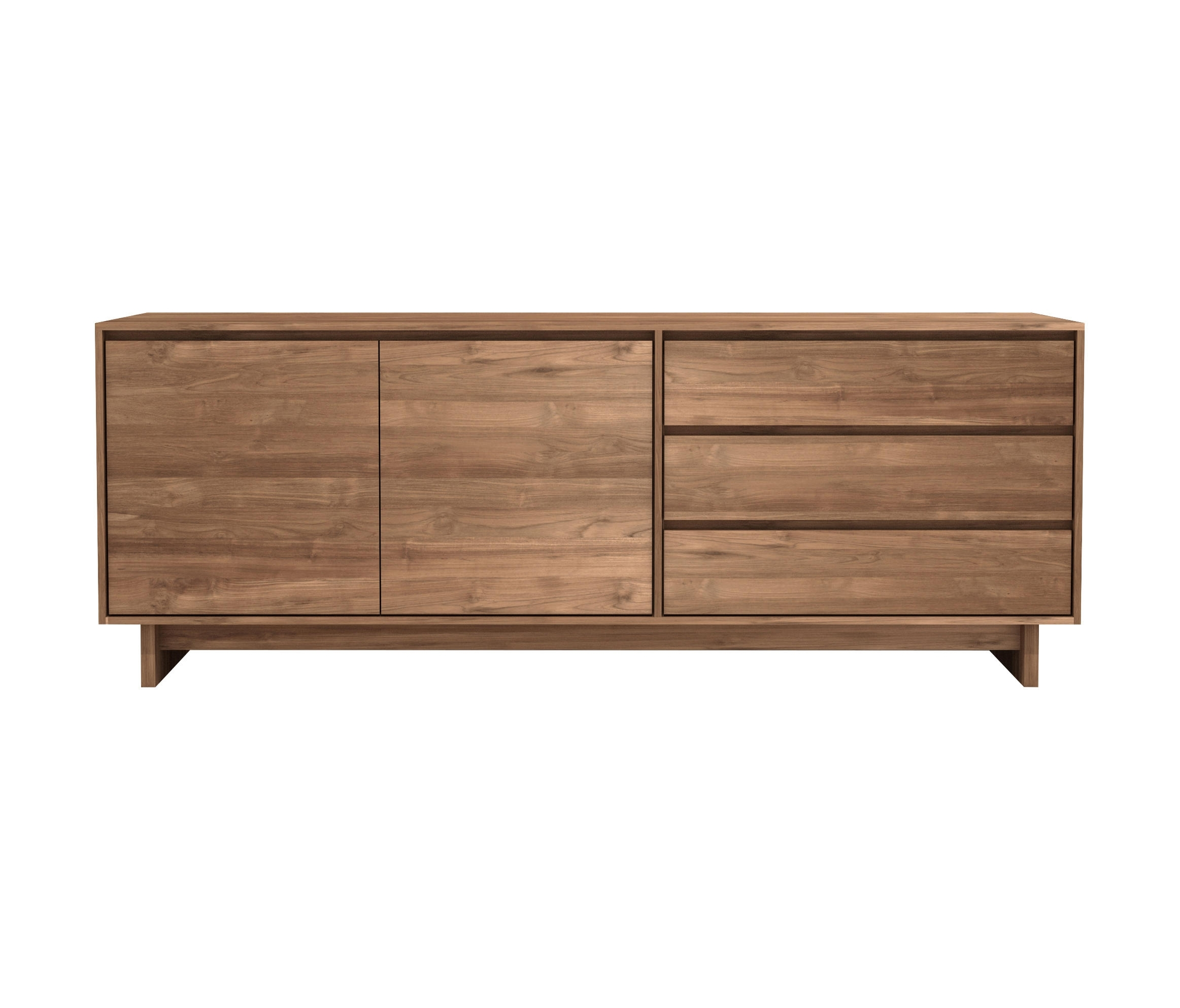Inspiration about Teak Wave Sideboard – Sideboards From Ethnicraft | Architonic Intended For Most Up To Date Calhoun Sideboards (#5 of 20)