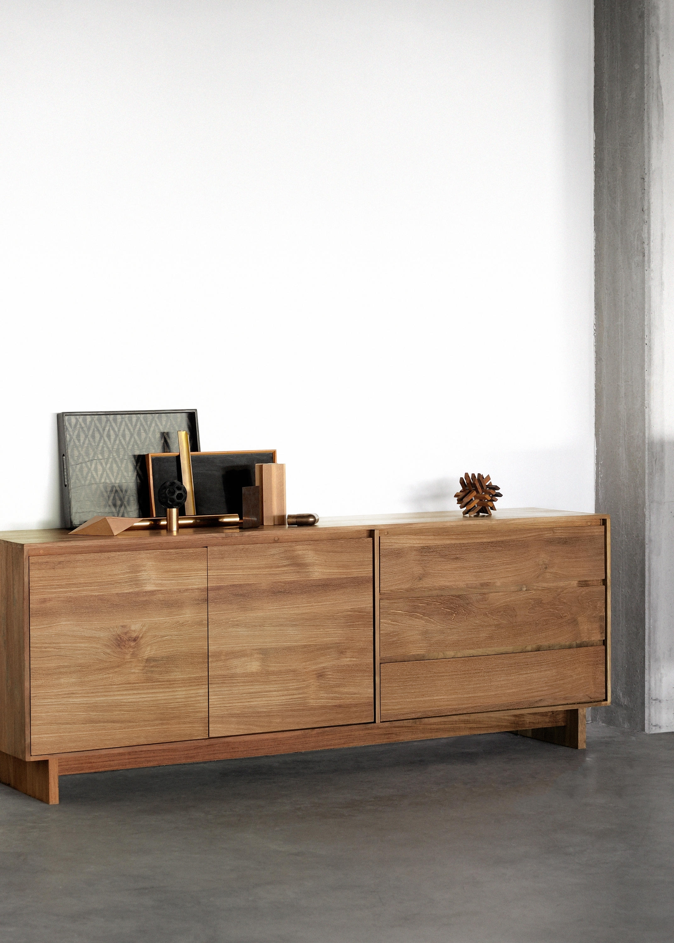 Teak Wave Sideboard – Sideboards From Ethnicraft | Architonic Regarding Current Calhoun Sideboards (View 18 of 20)