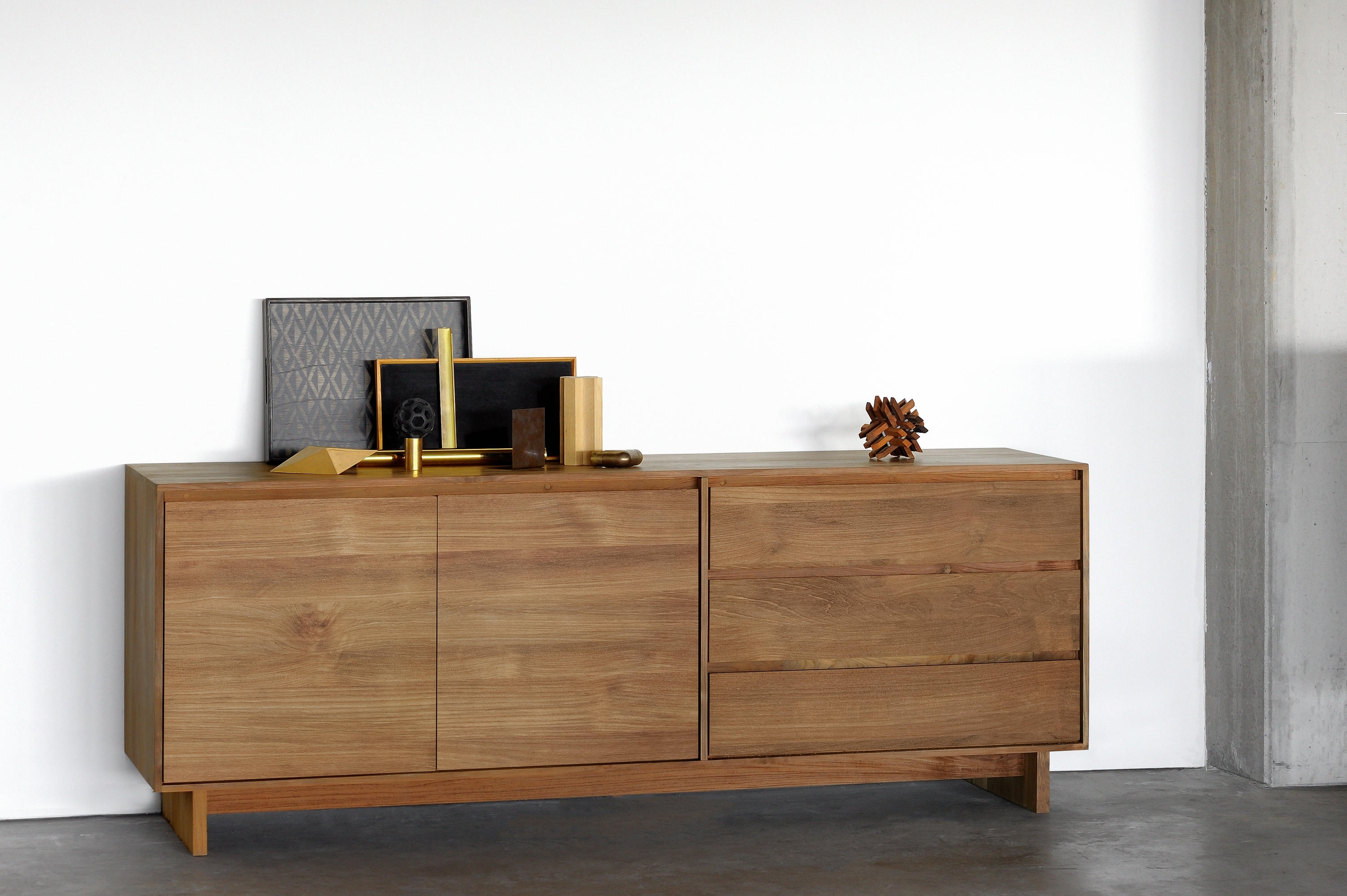 Inspiration about Teak Wave Sideboard – Sideboards From Ethnicraft | Architonic With 2018 Calhoun Sideboards (#11 of 20)