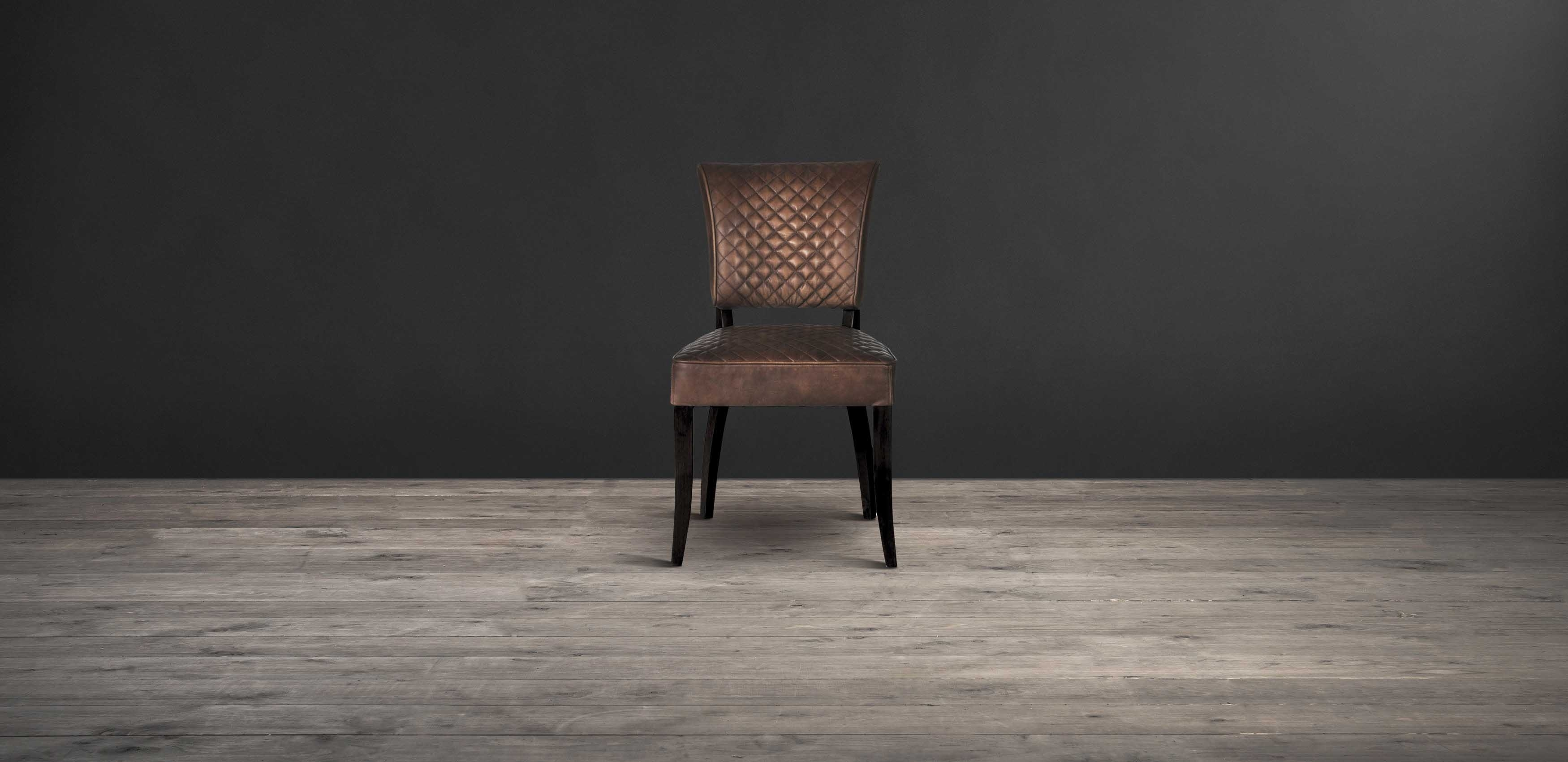 Inspiration about Timothy Oulton Within Famous Quilted Black Dining Chairs (#8 of 20)
