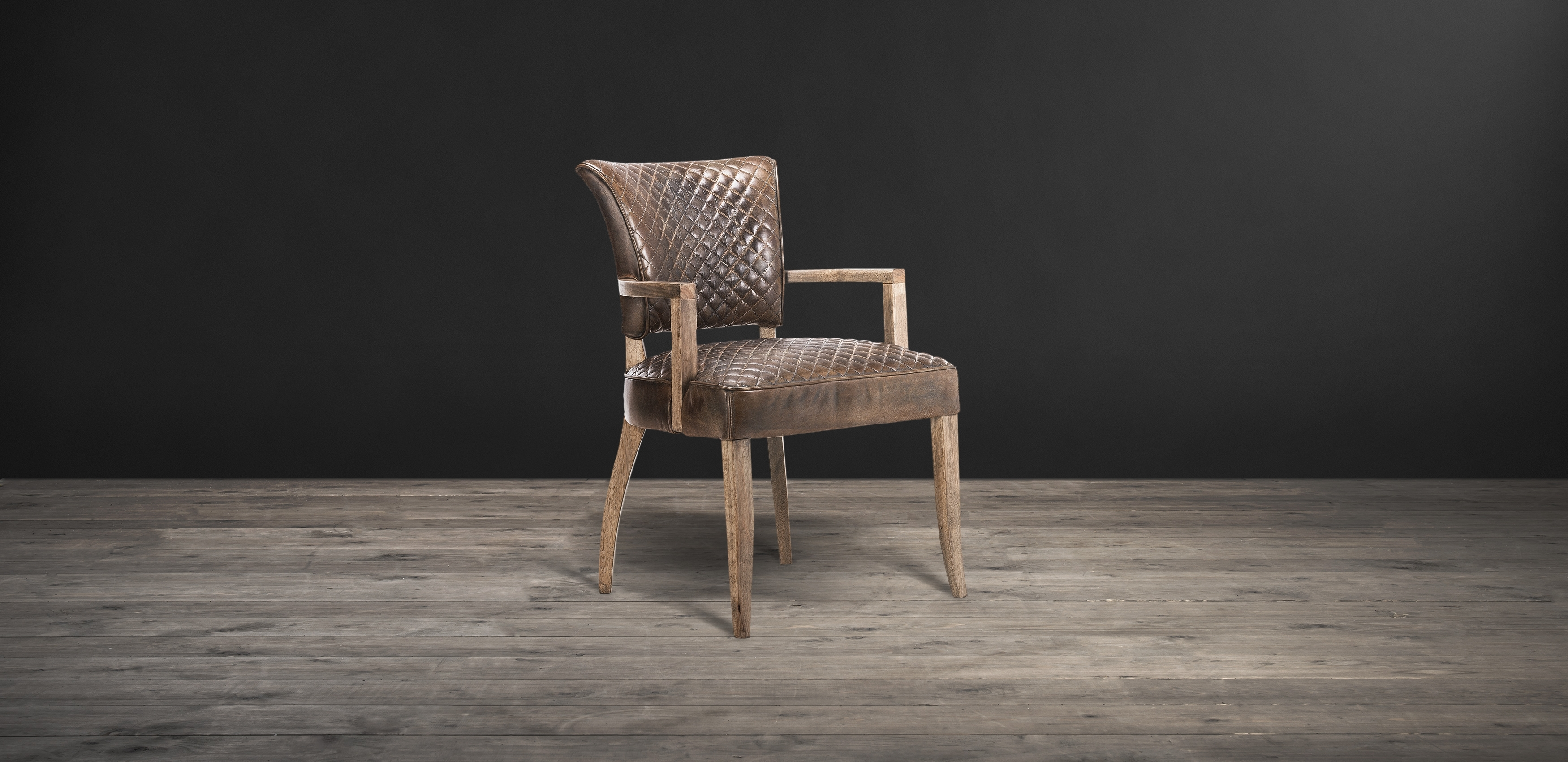 Inspiration about Timothy Oulton Within Preferred Quilted Brown Dining Chairs (#10 of 20)