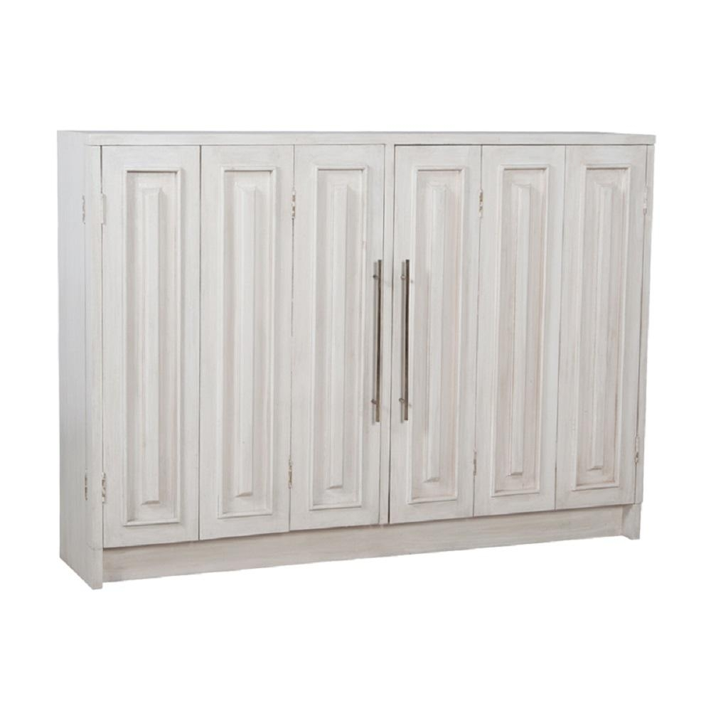 Inspiration about Titan Lighting Parsons Manor White Wash Buffet With 2 Doors Tn Throughout Most Recent 4 Door 3 Drawer White Wash Sideboards (#15 of 20)