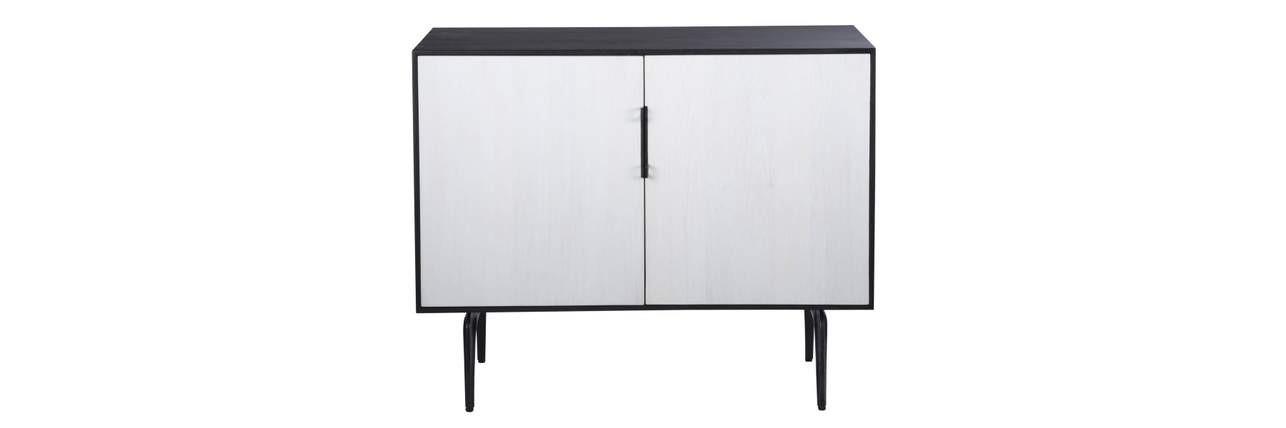 Toro Sideboard 2 Doors Within Most Popular Dark Smoked Oak With White Marble Top Sideboards (#20 of 20)