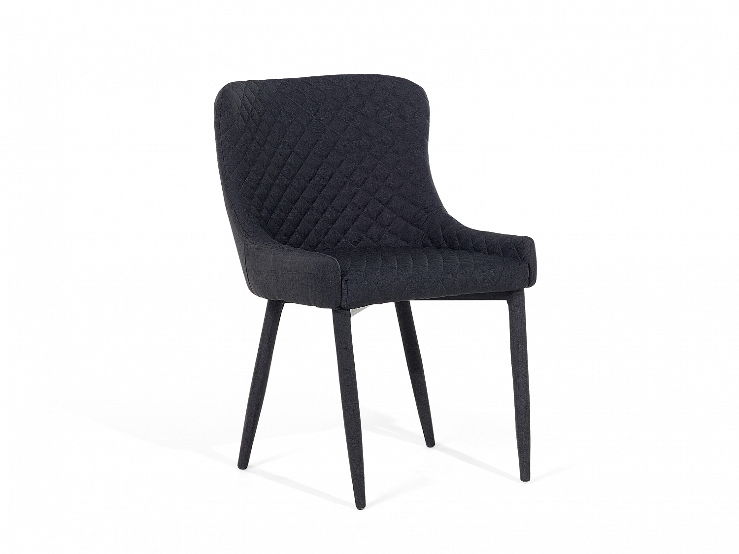 Inspiration about Trendy Quilted Black Dining Chairs With Regard To Chair Dining Chair Upholstered Armless Quilted Black Ebay Baxton (#3 of 20)