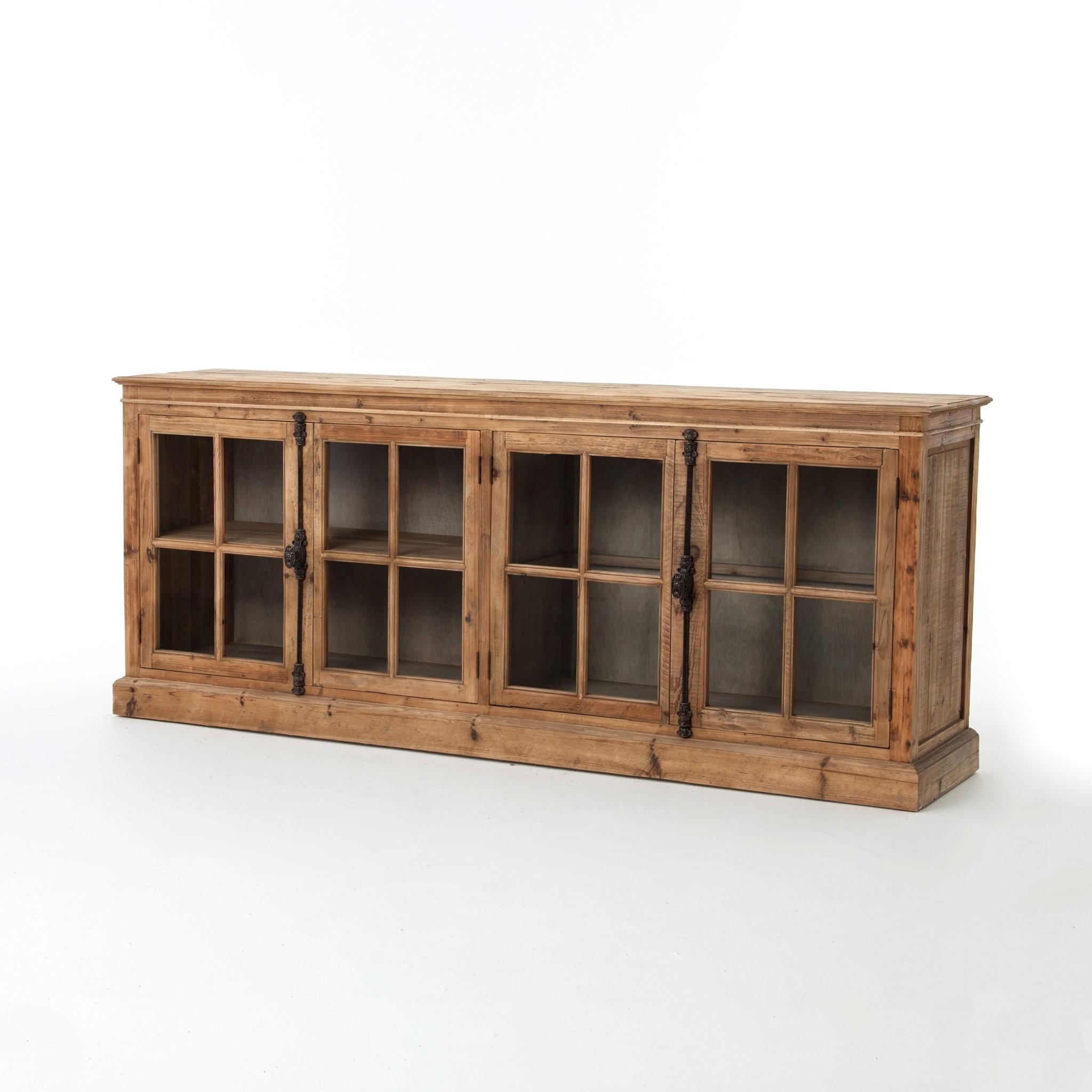 Trent Austin Design Downey Sideboard & Reviews | Wayfair Intended For Most Popular Reclaimed Pine 4 Door Sideboards (#20 of 20)