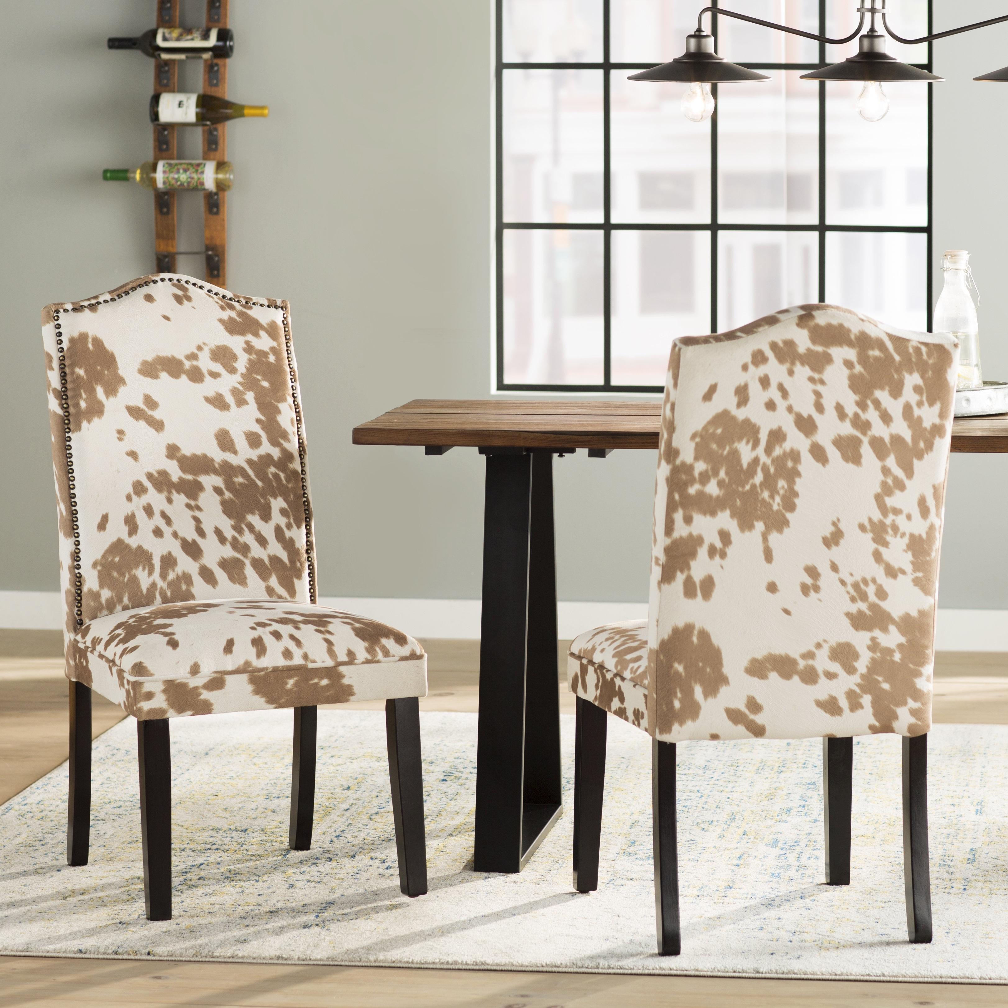 Inspiration about Trent Austin Design Healdsburg Nailhead Parsons Chair & Reviews With Most Popular Norwood Upholstered Hostess Chairs (#4 of 20)