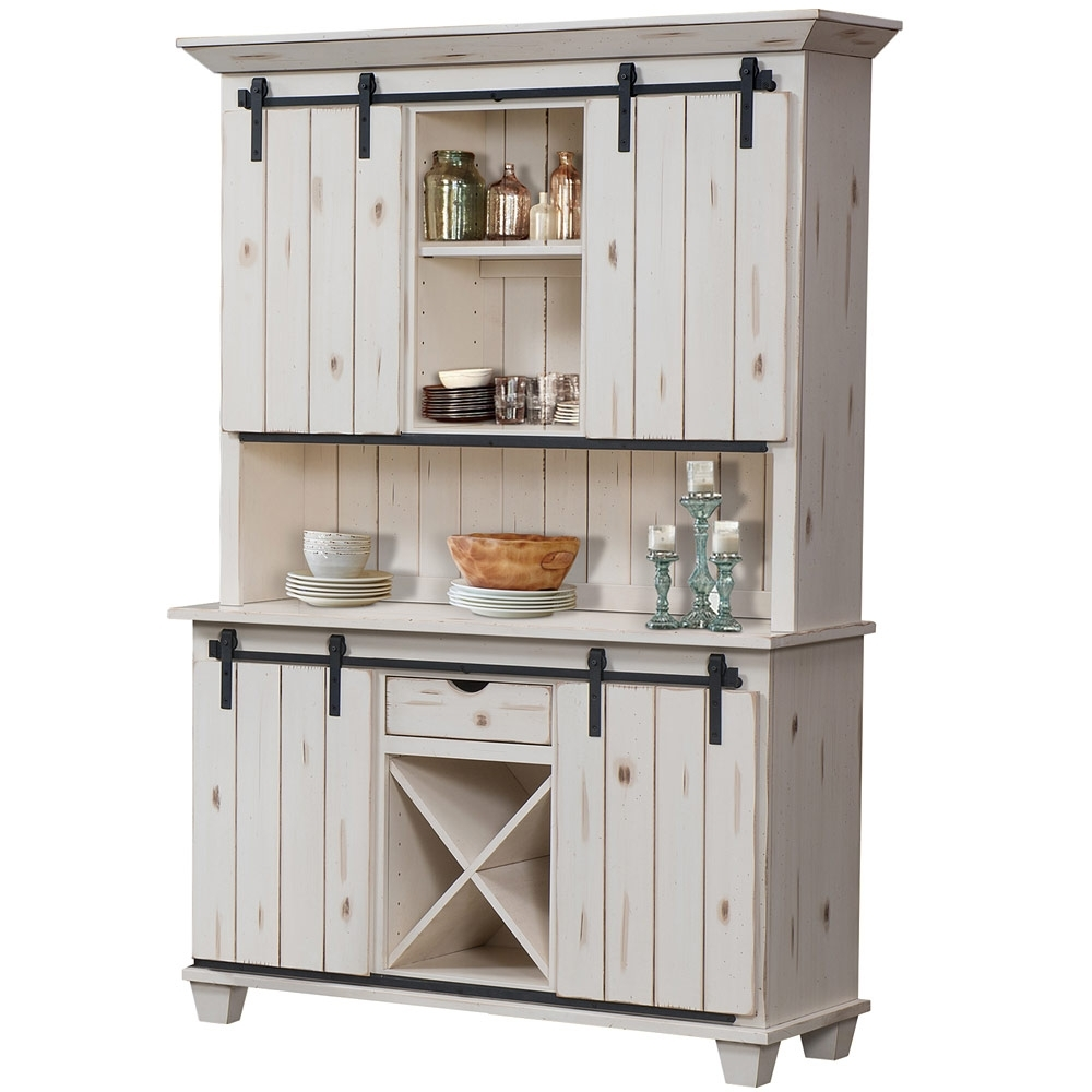 Inspiration about Vanderbilt 2 Door Amish Buffet  Solid Wood Amish Hutch | Cabinfield Intended For Most Current Ironwood 4 Door Sideboards (#16 of 20)