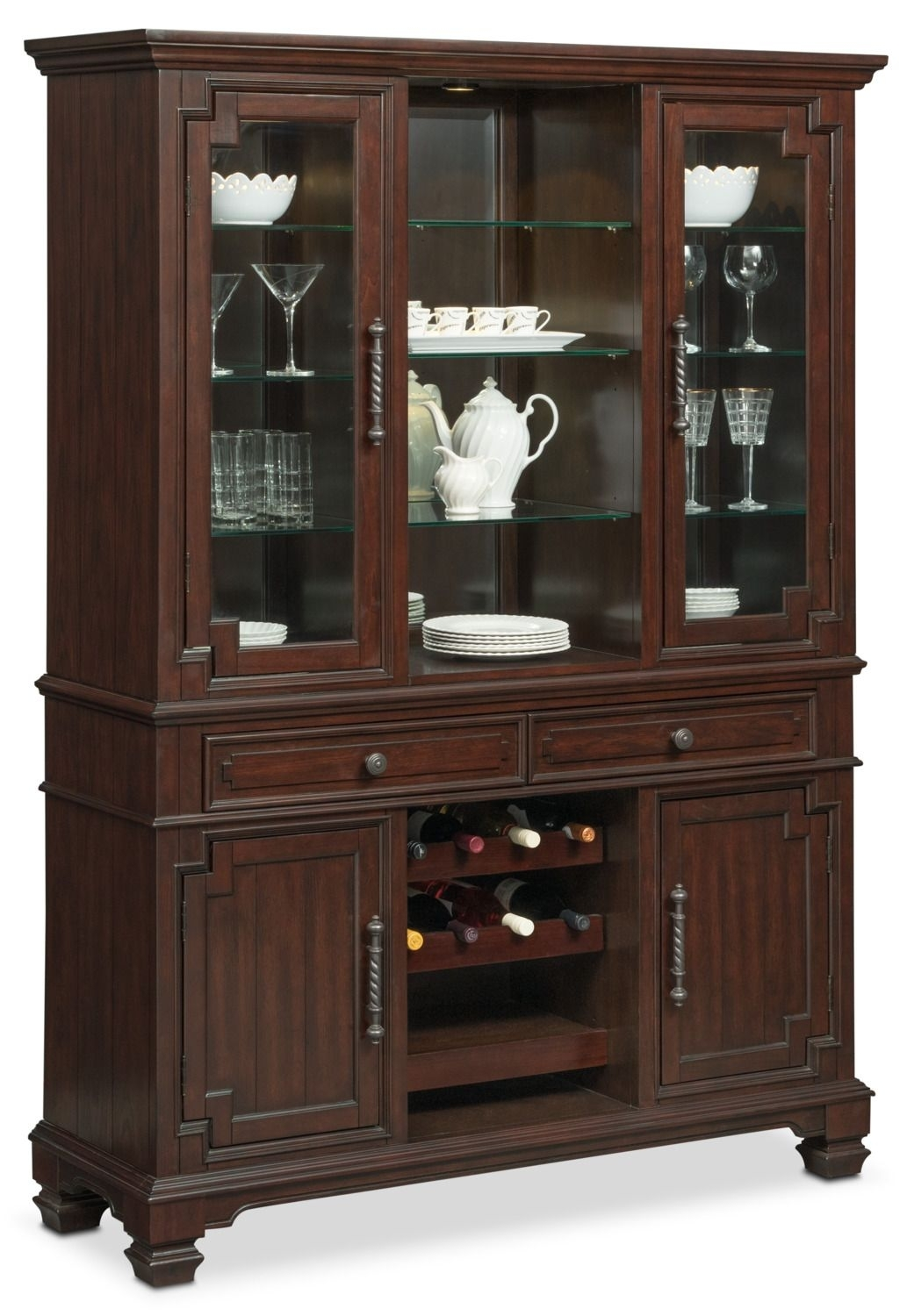 Inspiration about Vienna Buffet And Hutch – Merlot | Pinterest | Vienna, Buffet And With Regard To Newest Norwood Sideboards (#18 of 20)