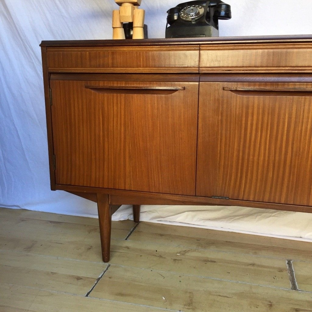 Inspiration about Vintage 1960S Teak Mid Century Rhf Sideboard Cupboard | In Norwood For Most Popular Norwood Sideboards (#7 of 20)