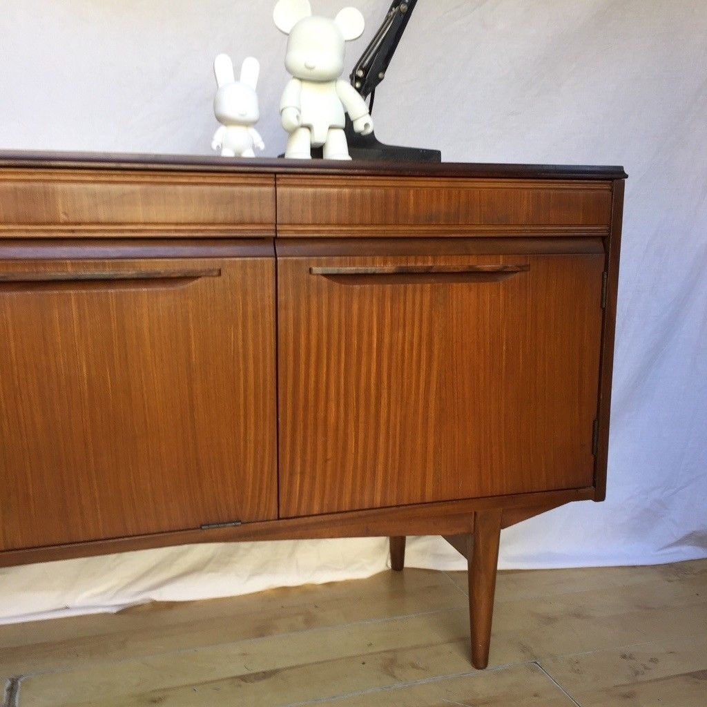 Inspiration about Vintage 1960S Teak Mid Century Rhf Sideboard Cupboard | In Norwood Inside 2017 Norwood Sideboards (#9 of 20)