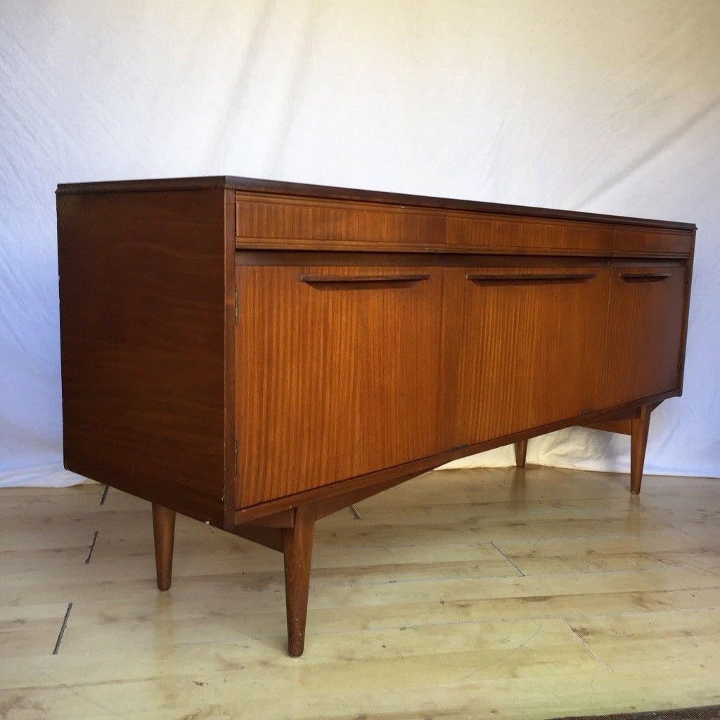 Inspiration about Vintage 1960S Teak Mid Century Rhf Sideboard Cupboard | In Norwood Regarding Newest Norwood Sideboards (#20 of 20)