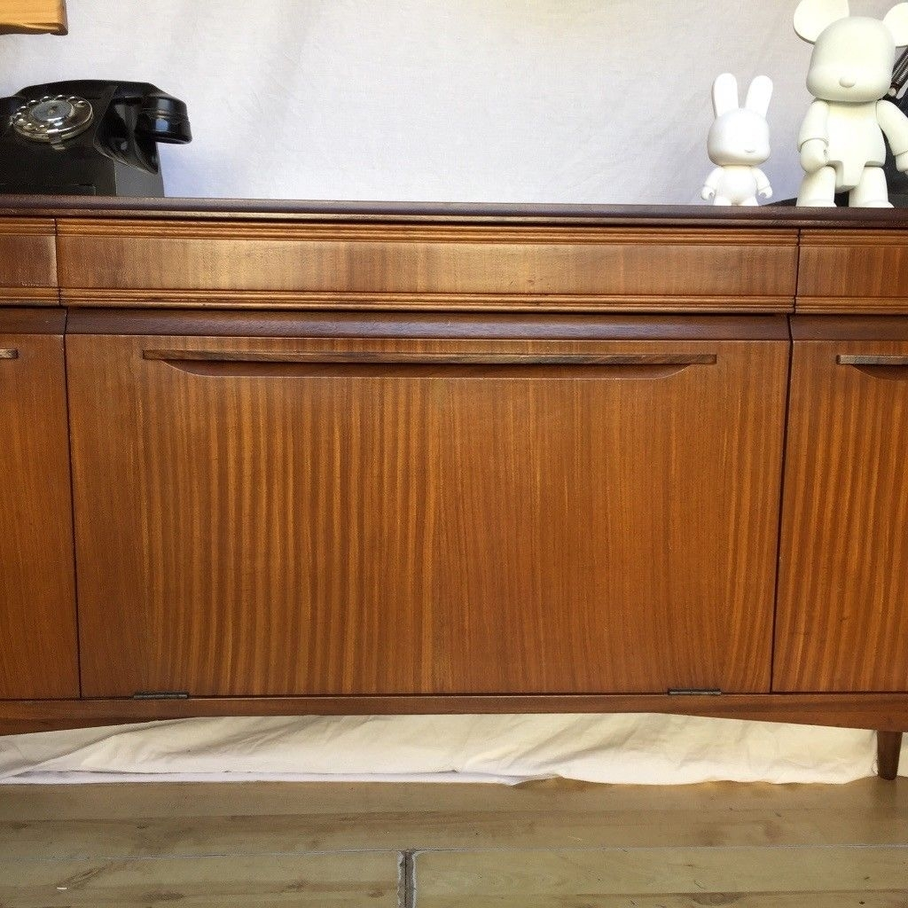 Inspiration about Vintage 1960S Teak Mid Century Rhf Sideboard Cupboard | In Norwood With 2018 Norwood Sideboards (#13 of 20)