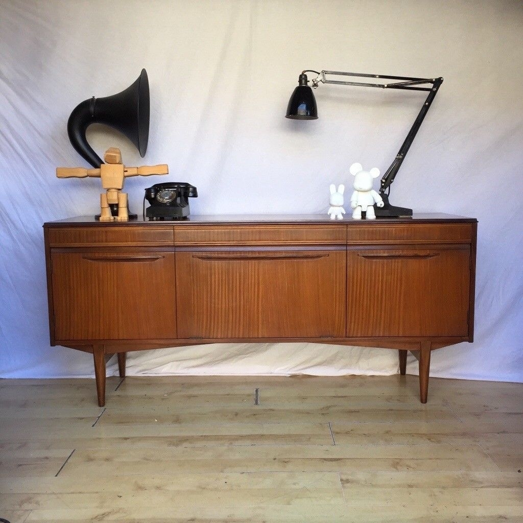 Inspiration about Vintage 1960S Teak Mid Century Rhf Sideboard Cupboard | In Norwood Within Most Popular Norwood Sideboards (#16 of 20)