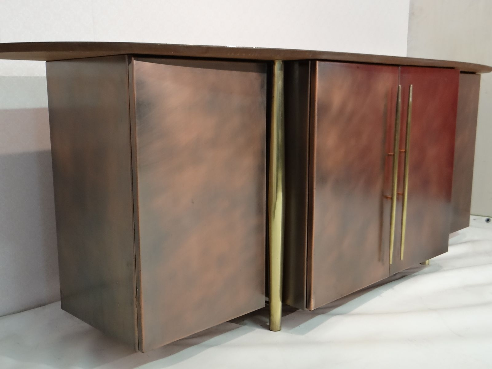 Inspiration about Vintage Brass Sideboard From Belgo Chrom For Sale At Pamono With Regard To Most Recently Released Aged Brass Sideboards (#15 of 20)