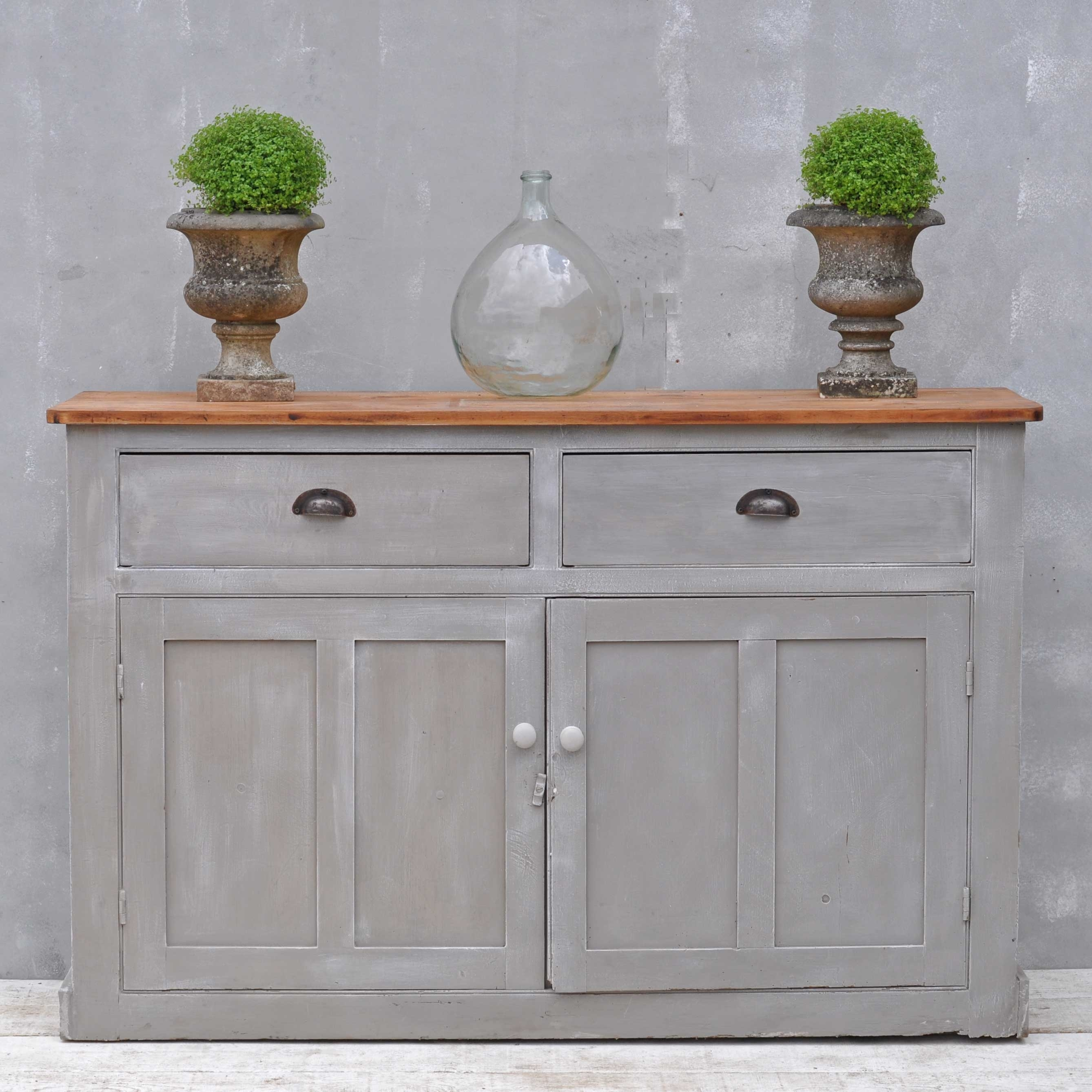 Inspiration about Vintage Sideboard – Hand Painted Victorian Cupboard – Home Barn Vintage Throughout Best And Newest Vintage 8 Glass Sideboards (#5 of 20)