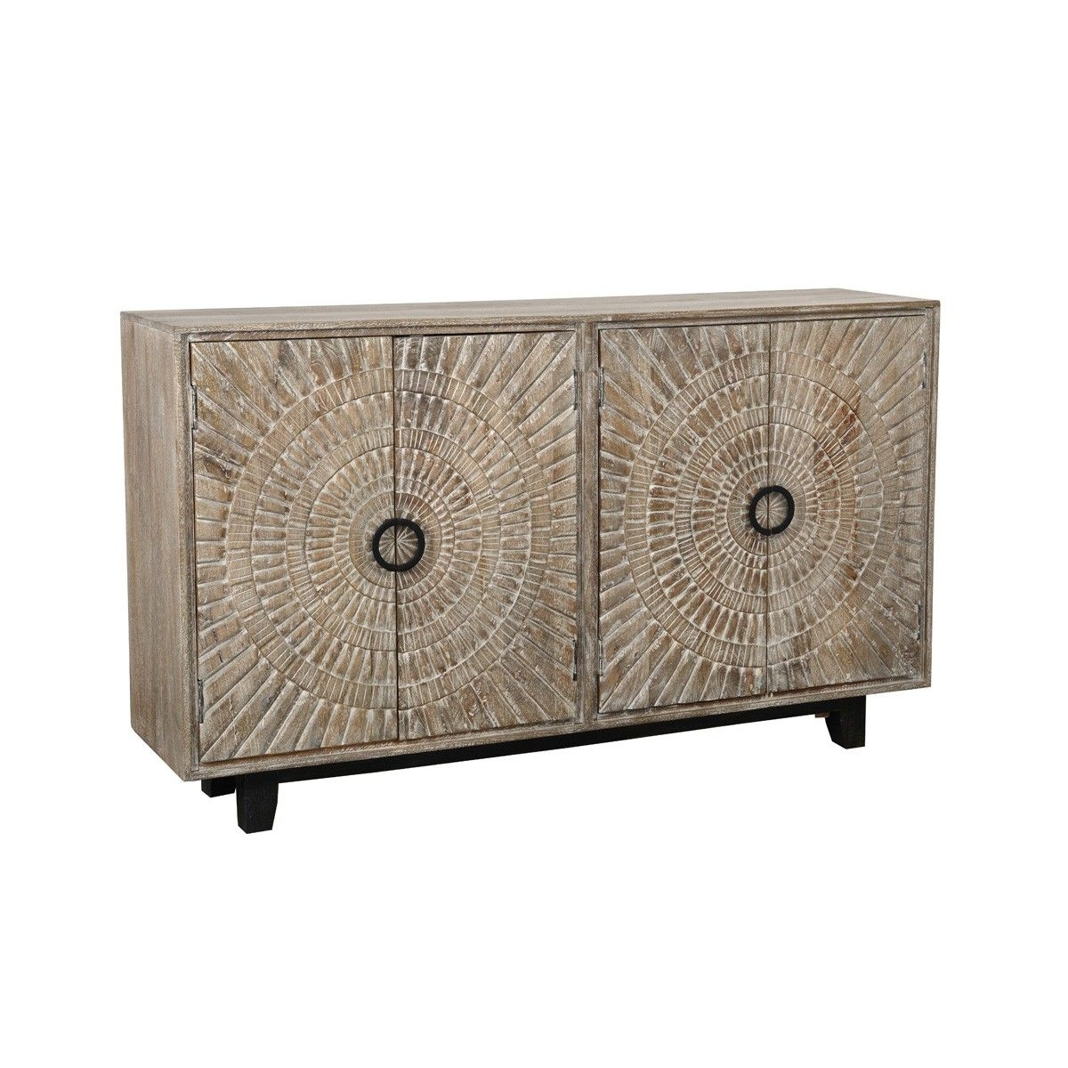 Inspiration about Vivienne 4Dr Sideboard – Cabinets – Furniture – Products Regarding Latest Mid Burnt Oak 71 Inch Sideboards (#7 of 20)