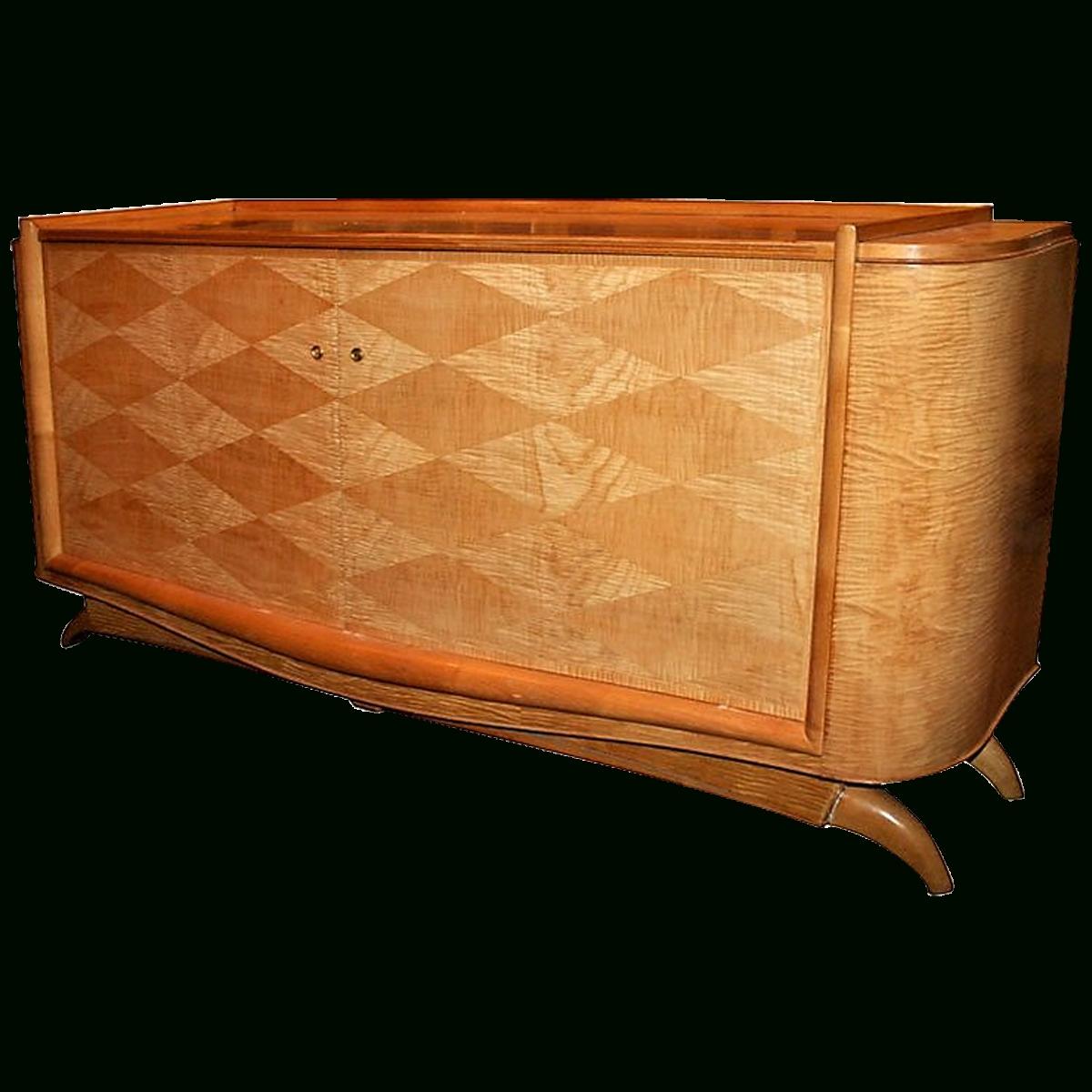 Inspiration about Viyet – Designer Furniture – Storage – Saddier Et Fils Two Door With Regard To Best And Newest 2 Door Mirror Front Sideboards (#19 of 20)