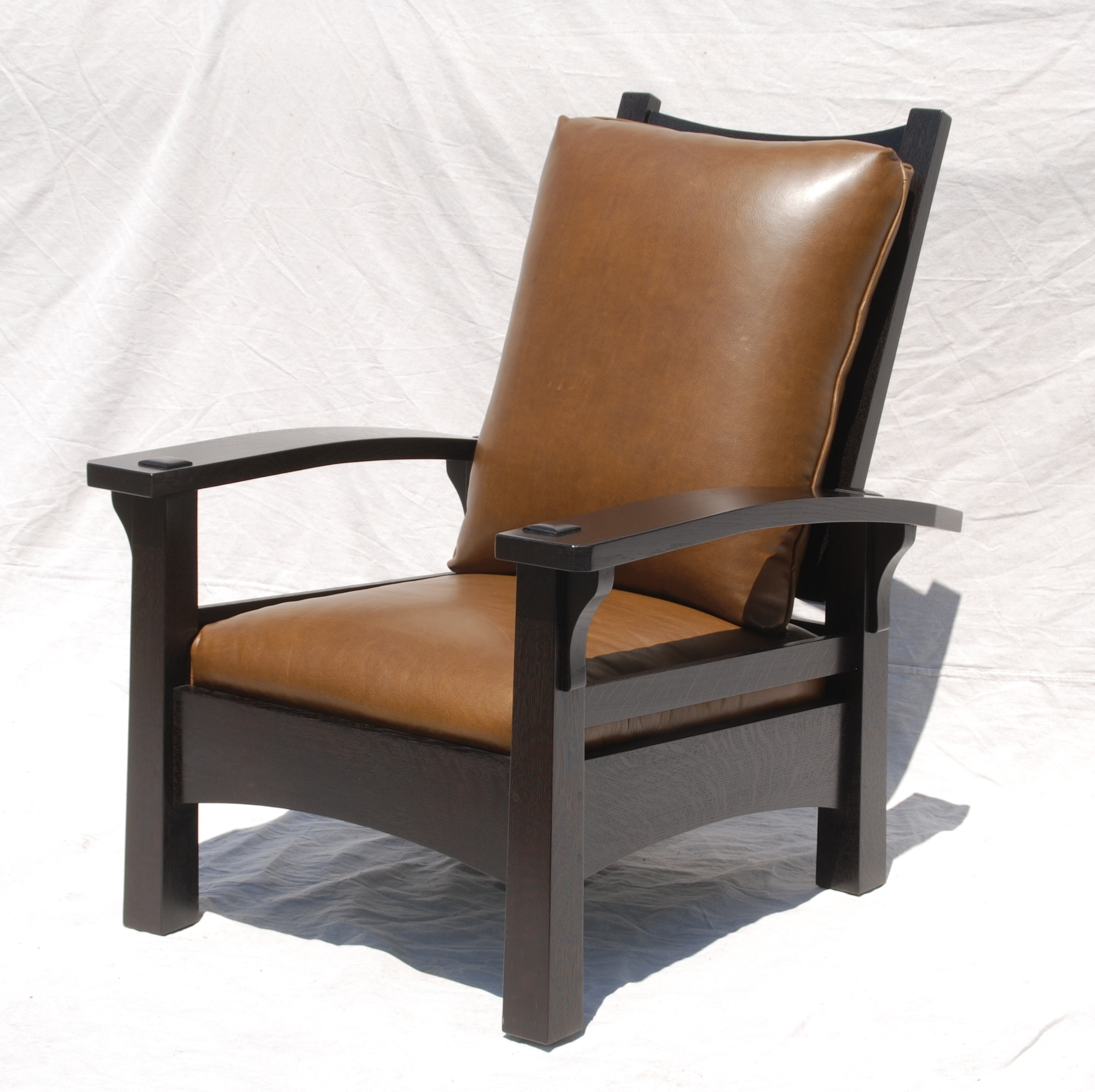 Voorhees Craftsman Mission Oak Furniture – Replica Gustav Stickley In Best And Newest Craftsman Arm Chairs (#18 of 20)