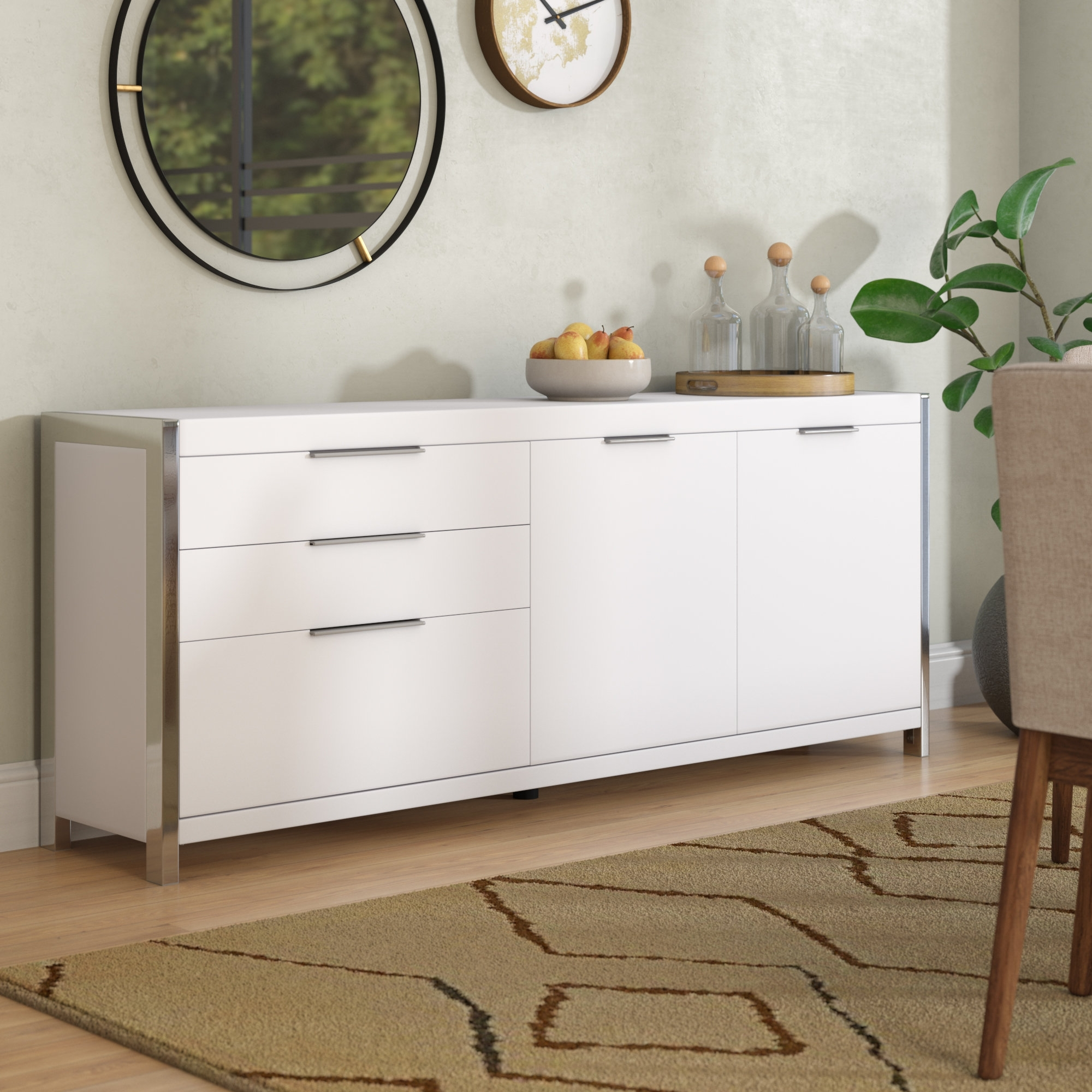 Inspiration about Wade Logan Damian Sideboard & Reviews | Wayfair Regarding Most Up To Date Logan Sideboards (#19 of 20)