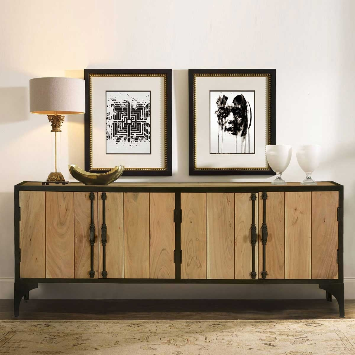 Popular Photo of Iron Sideboards