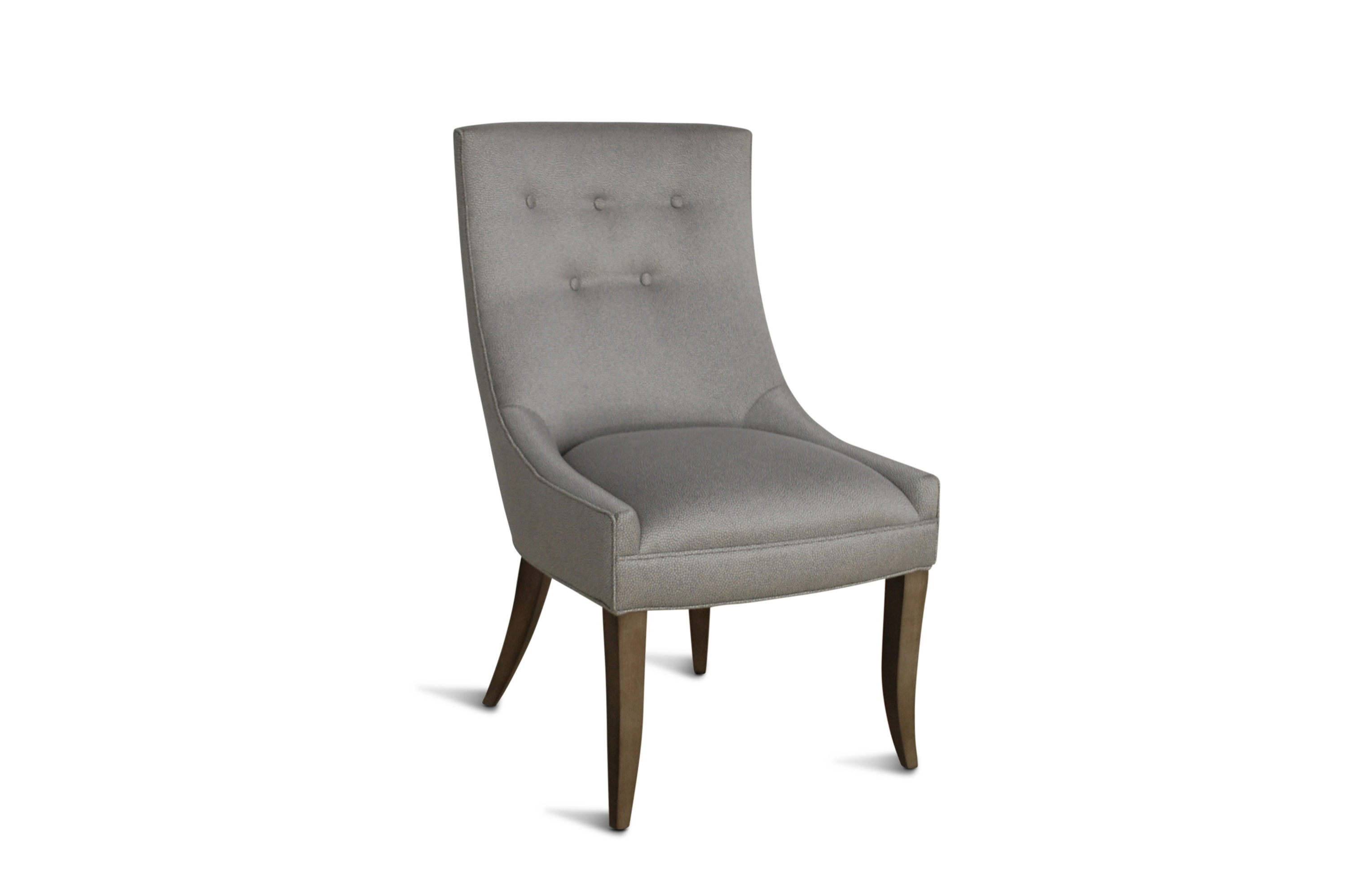 Well Known Cole Ii White Side Chairs Within Pacific Furniture – Custom Furniture – Nailhead Trim Dining Chair (#18 of 20)