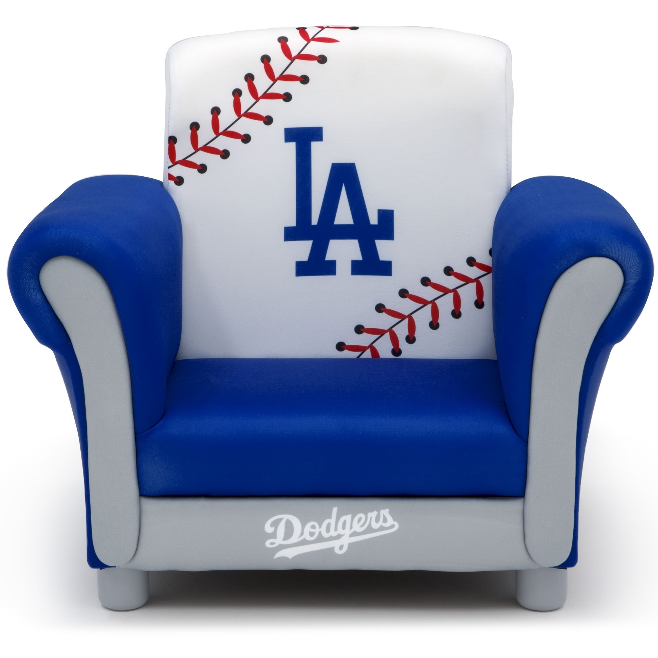 Inspiration about Well Known Dodger Side Chairs For Mlb Los Angeles Dodgers Kids Upholstered Chairdelta Children (#6 of 20)