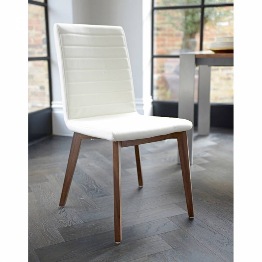 Inspiration about Well Known Parquet Dining Chair Faux Leather, Cream – Brandalley With Parquet Dining Chairs (#7 of 20)