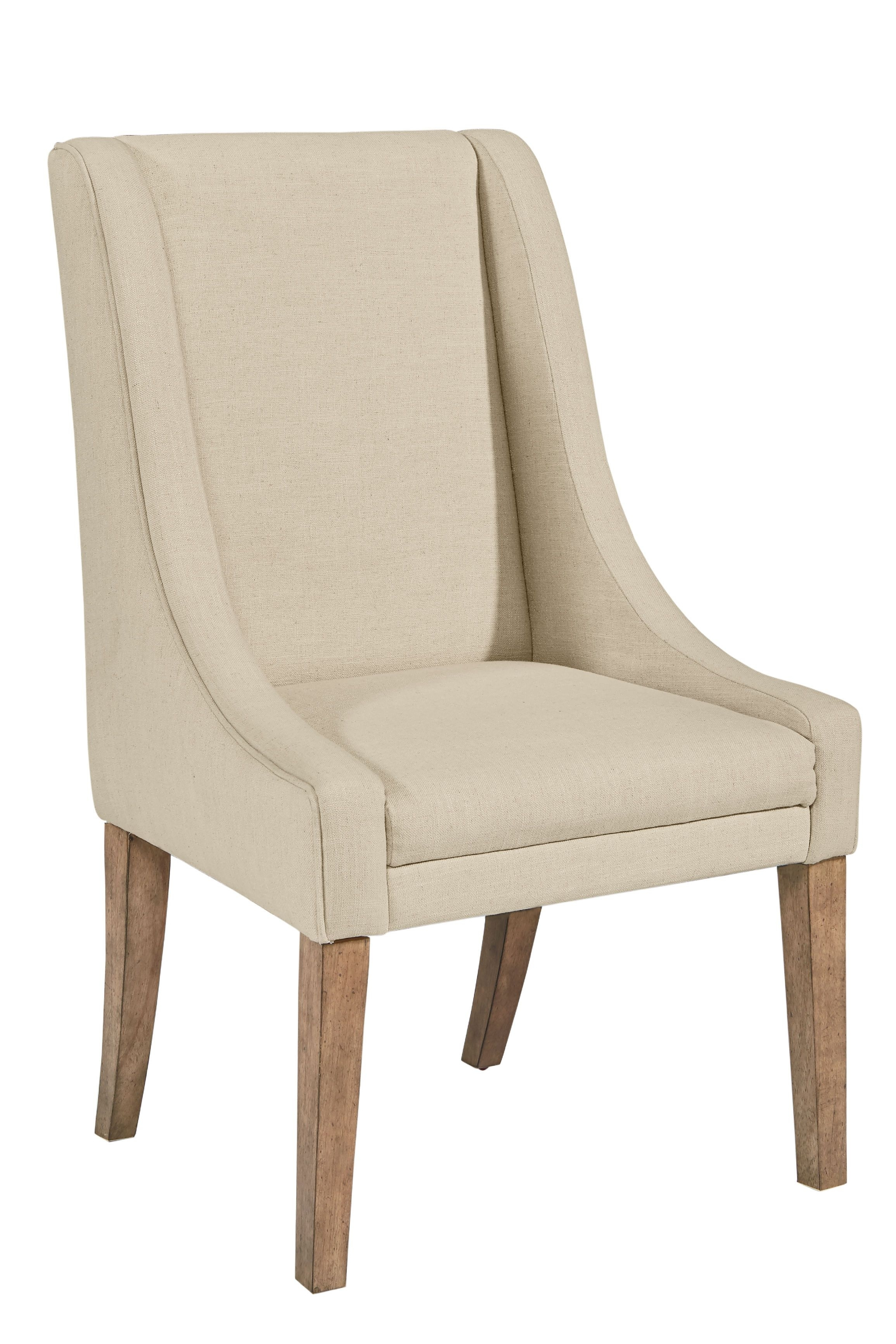 Inspiration about Well Known This Comfortable Upholstered Demi Wing Side Chair From Magnolia For Magnolia Home Contour Milk Crate Side Chairs (#10 of 20)