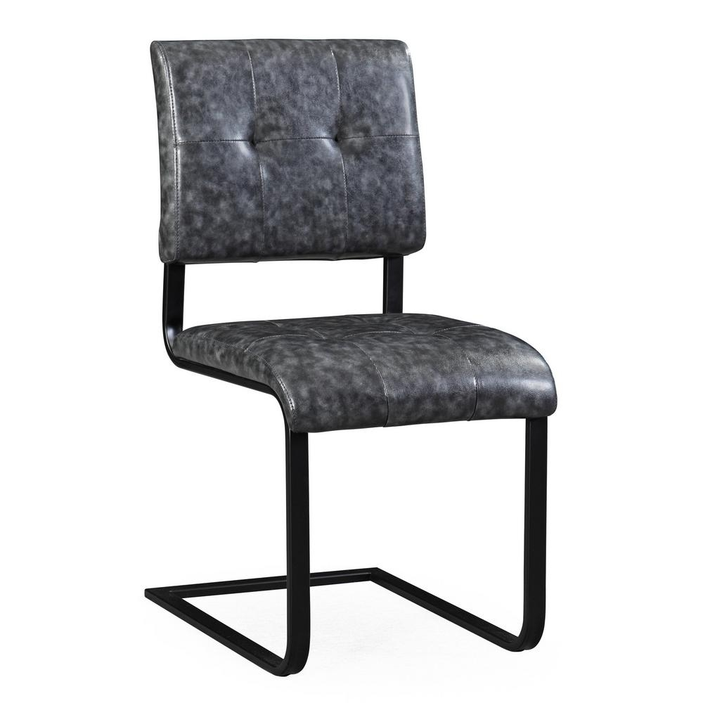 Inspiration about Well Known Tov Furniture Cora Grey Chair (Set Of 2) Tov G5474 – The Home Depot In Cora Side Chairs (#7 of 20)