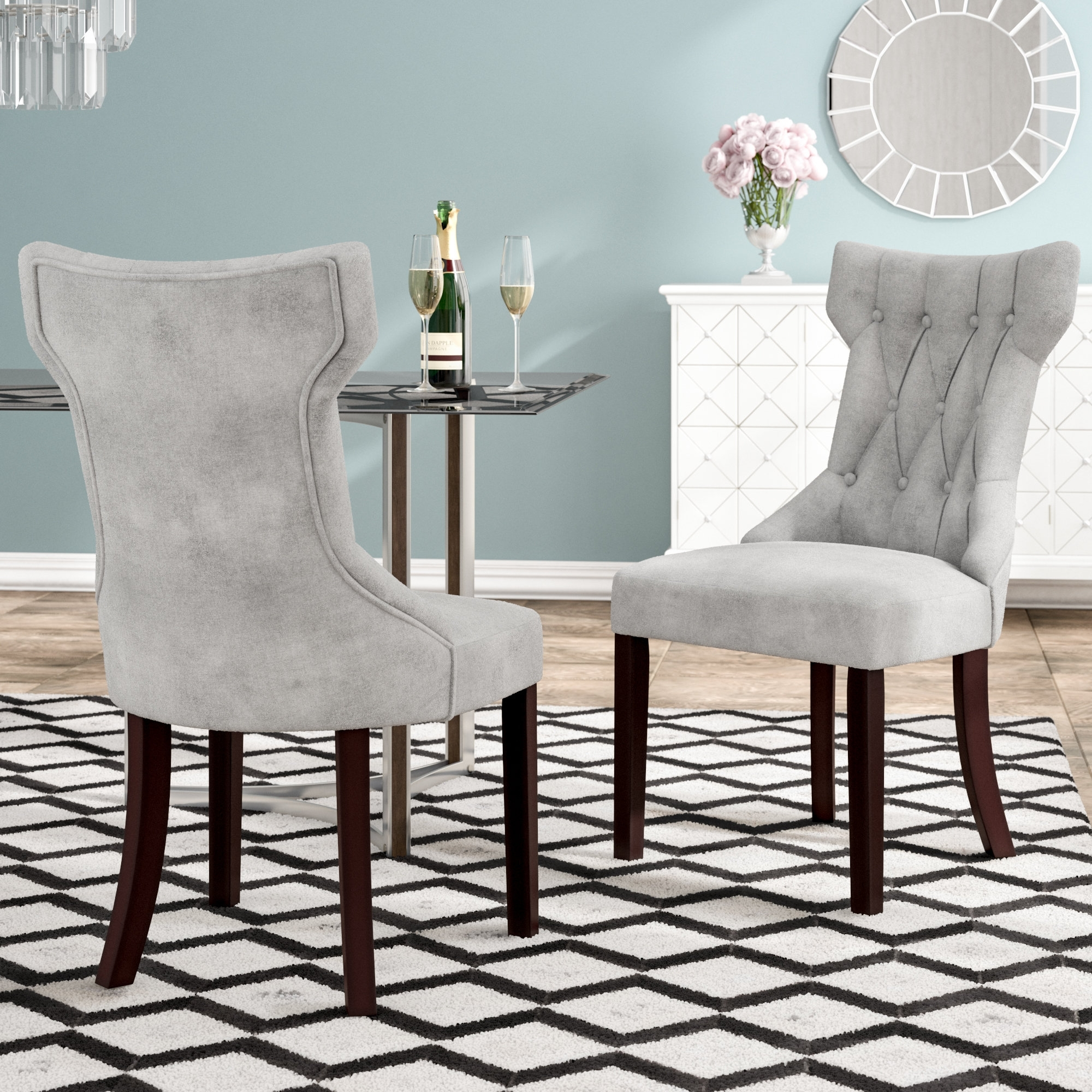 Inspiration about Well Known Willa Arlo Interiors Caravilla Side Chair & Reviews (#11 of 20)