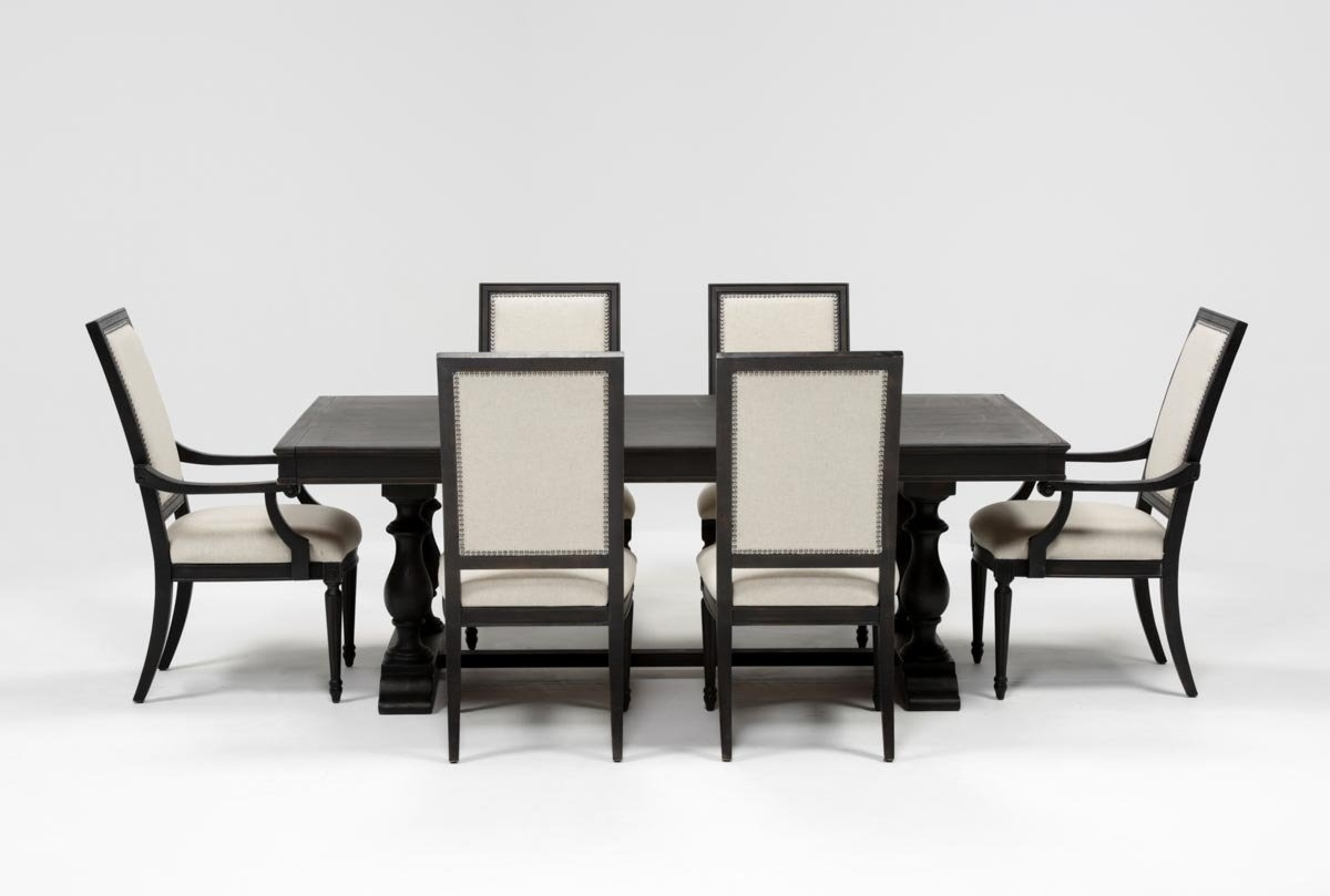 Inspiration about Well Liked Chapleau Side Chairs Inside Chapleau 7 Piece Extension Dining Set (#3 of 20)