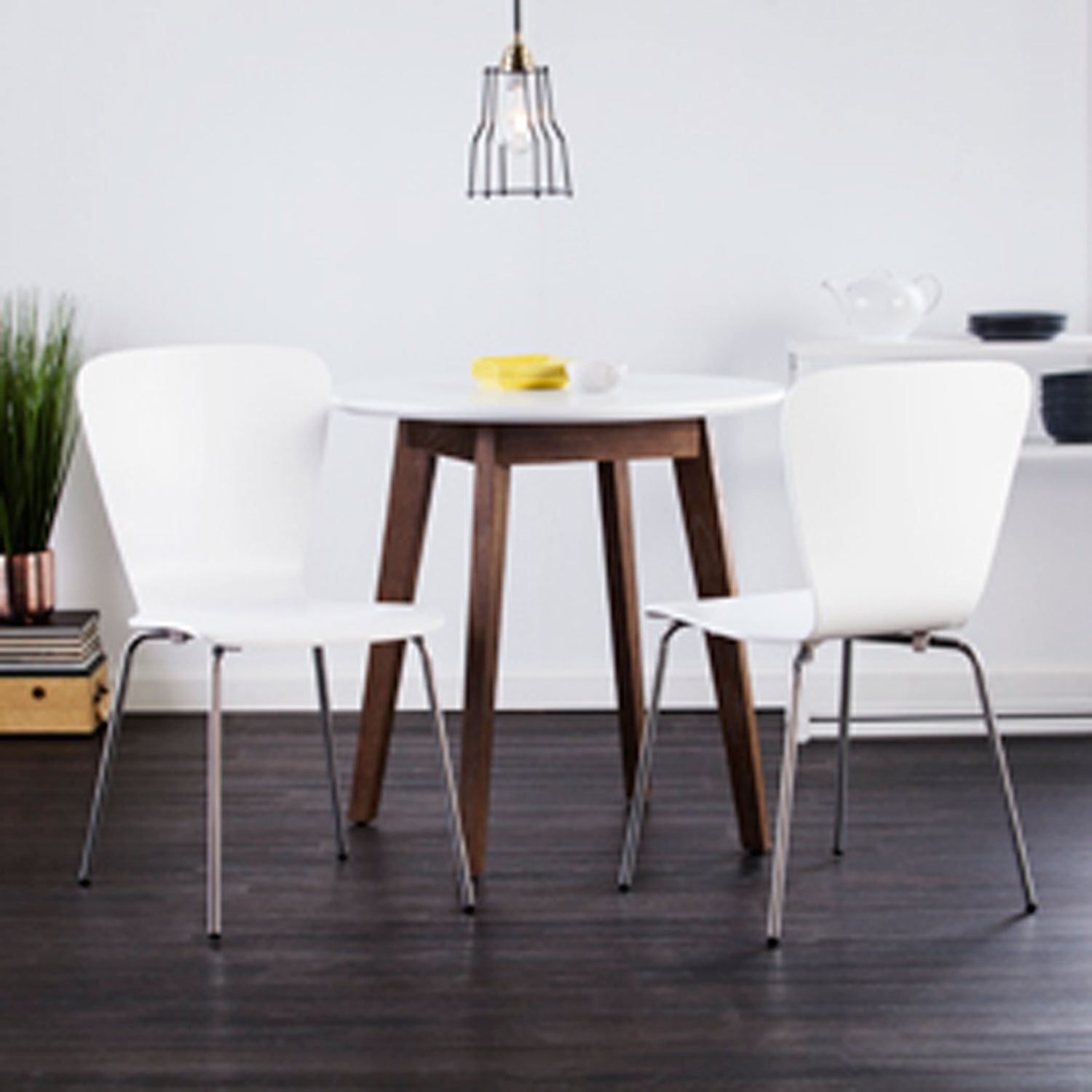 Inspiration about Well Liked Holly & Martin Cadby Bentwood Side Chairs White, Set Of 2 Bc8238 With Pearson White Slipcovered Side Chairs (#7 of 20)