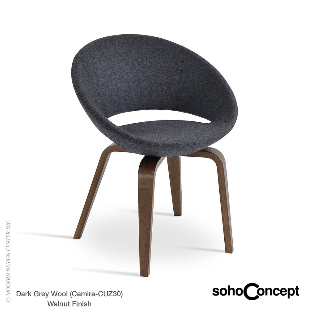 Well Liked Kent Dining Chairs For Crescent Plywood Dining Chair Kent Genuine Leathersoho Concept (#19 of 20)