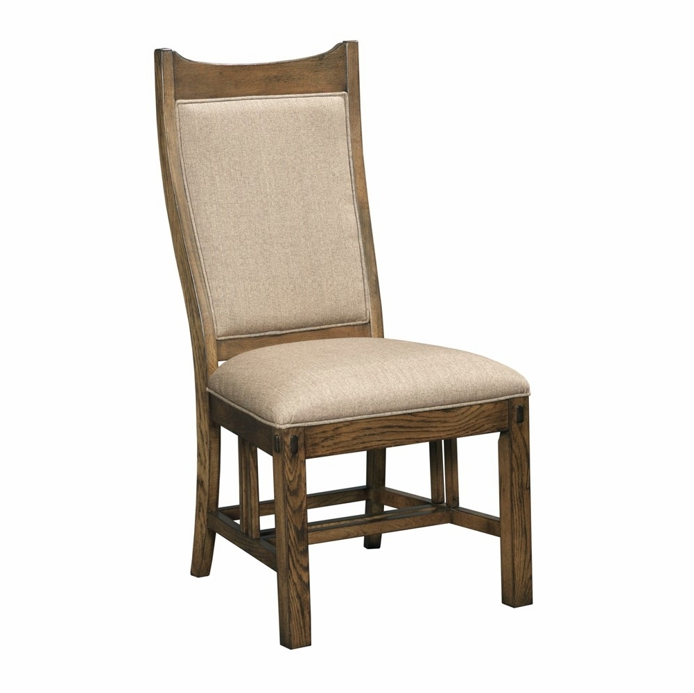 Inspiration about Well Liked Kincaid Furniture – Bedford Park Craftsman Upholstered Side Chair Regarding Craftsman Upholstered Side Chairs (#1 of 20)