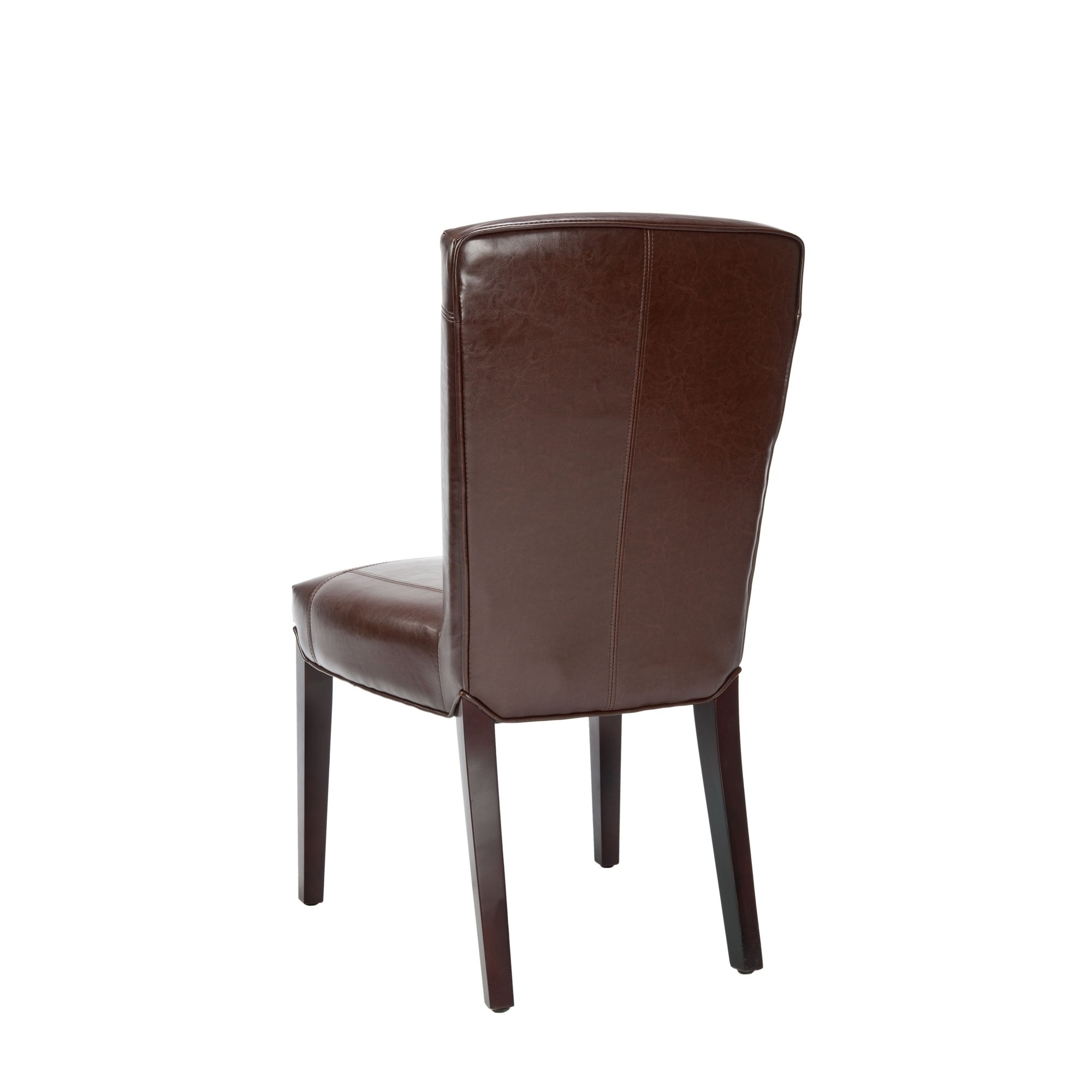 Well Liked Shop Safavieh Parsons Dining Bowery Brown Marbled Leather Dining Pertaining To Bowery Ii Side Chairs (#20 of 20)