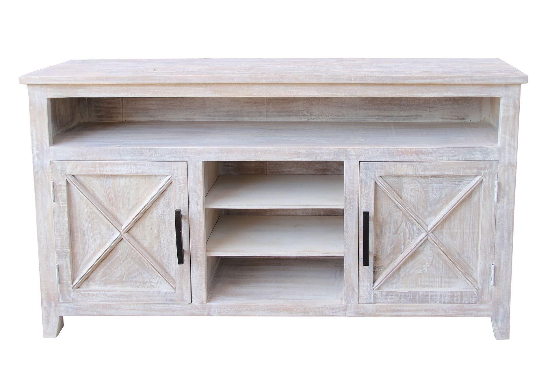 White Wash 2 Door Sideboard | Doors Within Current 2 Door White Wash Sideboards (View 12 of 20)